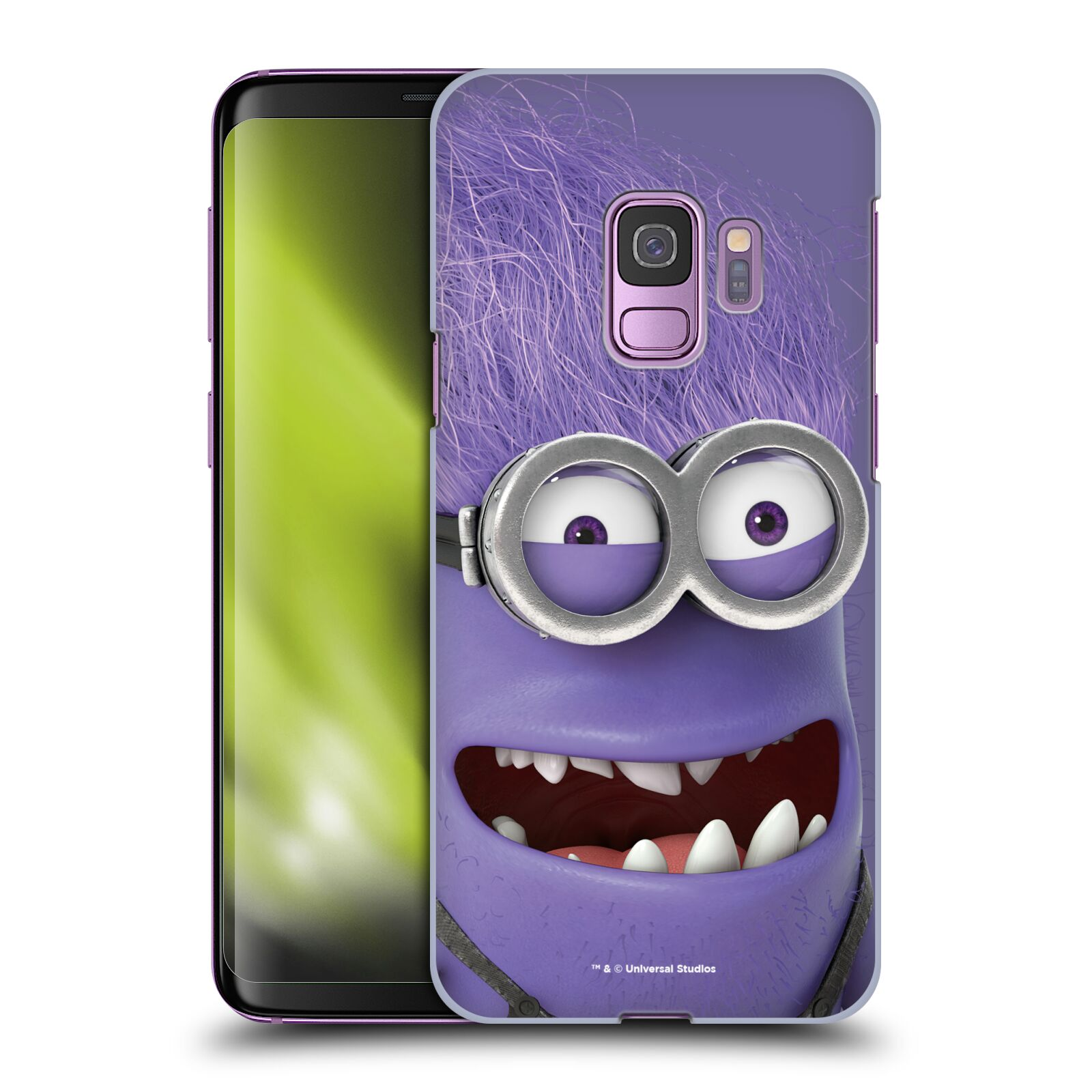 Plastové pouzdro na mobil Samsung Galaxy S9 - Head Case - Zlý Mimoň z filmu Já, padouch - Despicable Me