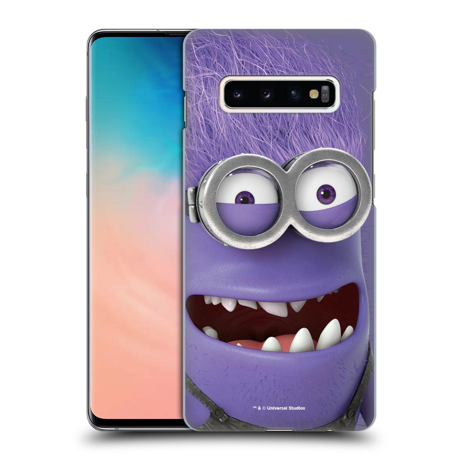 Plastové pouzdro na mobil Samsung Galaxy S10 Plus - Head Case - Zlý Mimoň z filmu Já, padouch - Despicable Me