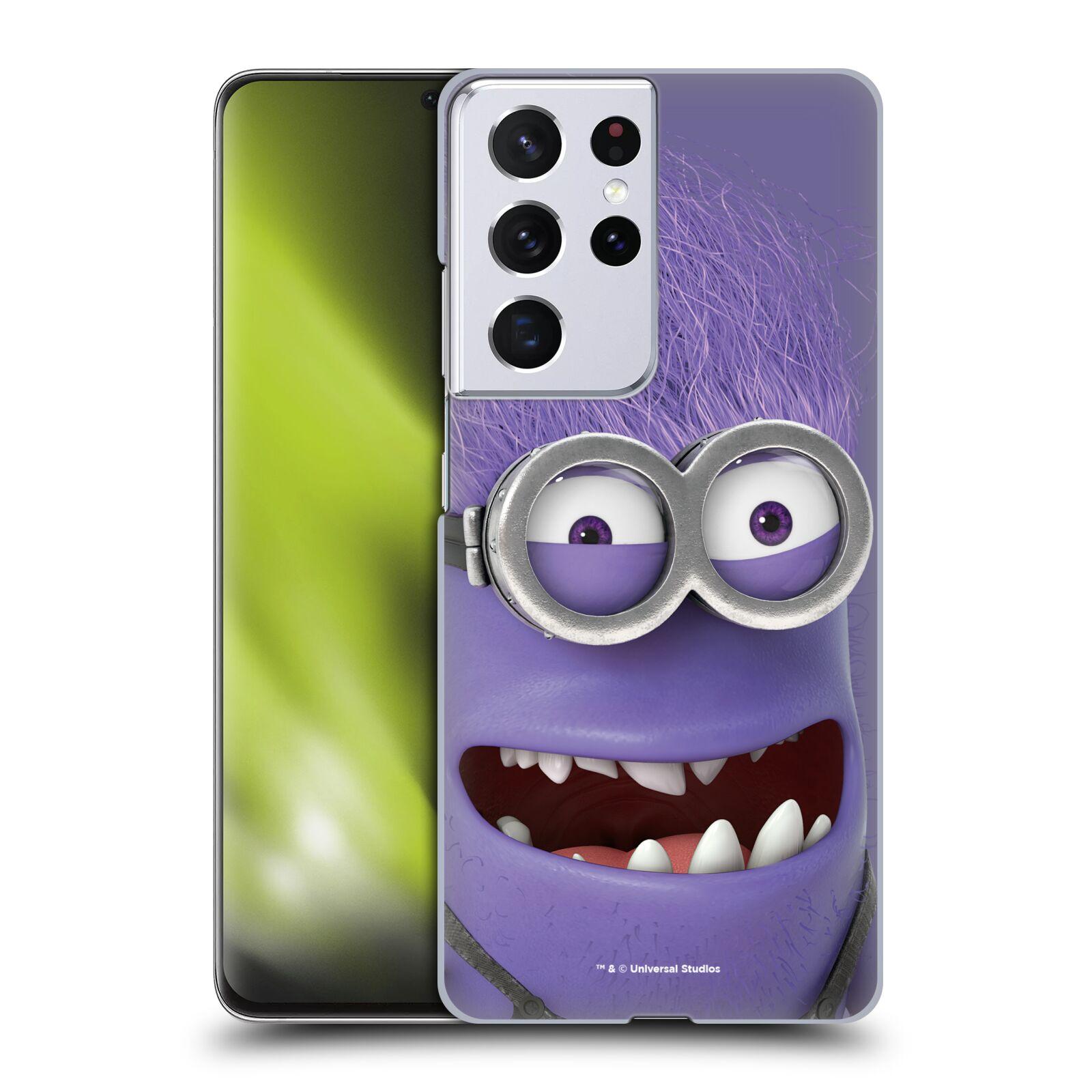 Plastové pouzdro na mobil Samsung Galaxy S21 Ultra 5G - Head Case - Zlý Mimoň z filmu Já, padouch - Despicable Me