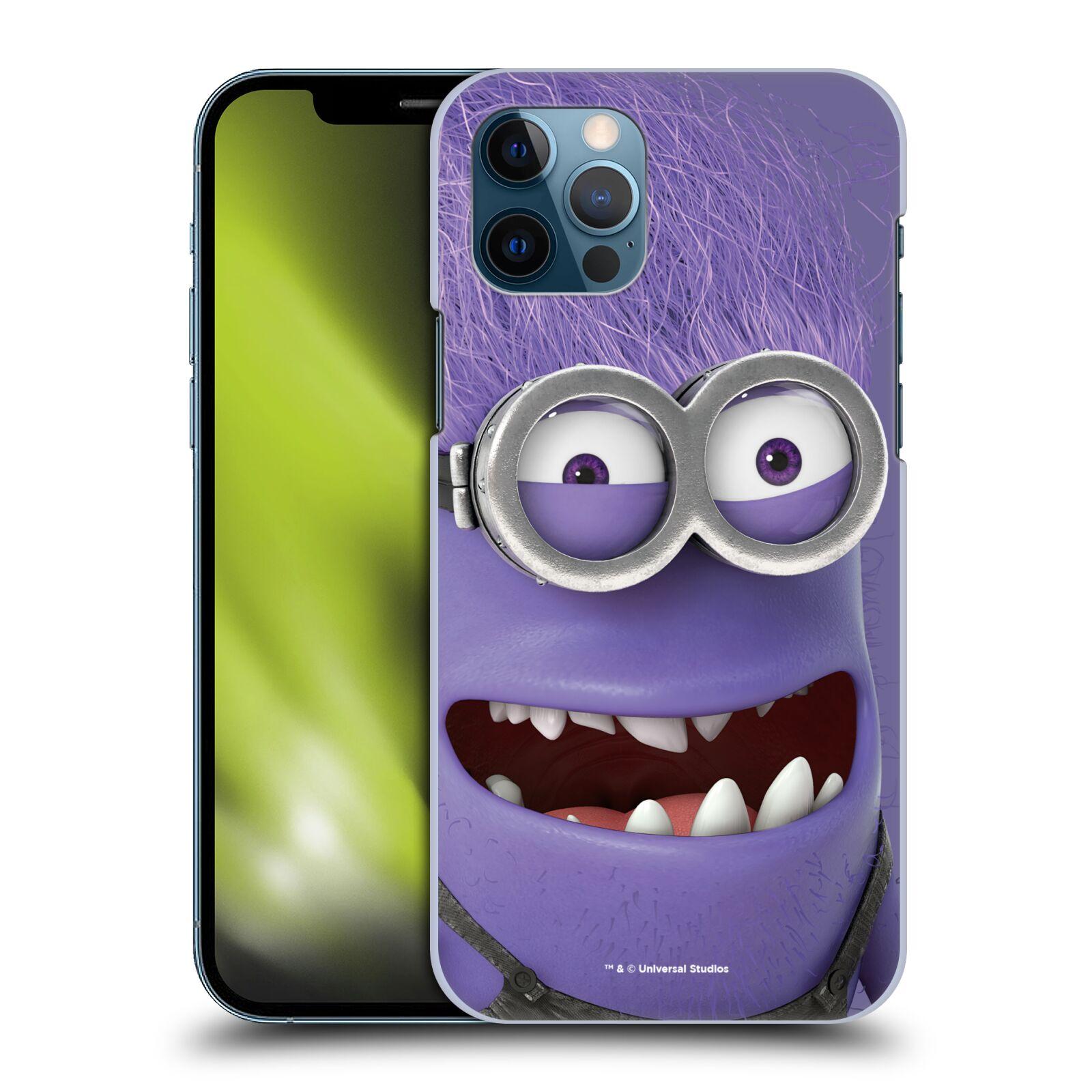 Plastové pouzdro na mobil Apple iPhone 12 / 12 Pro - Head Case - Zlý Mimoň z filmu Já, padouch - Despicable Me