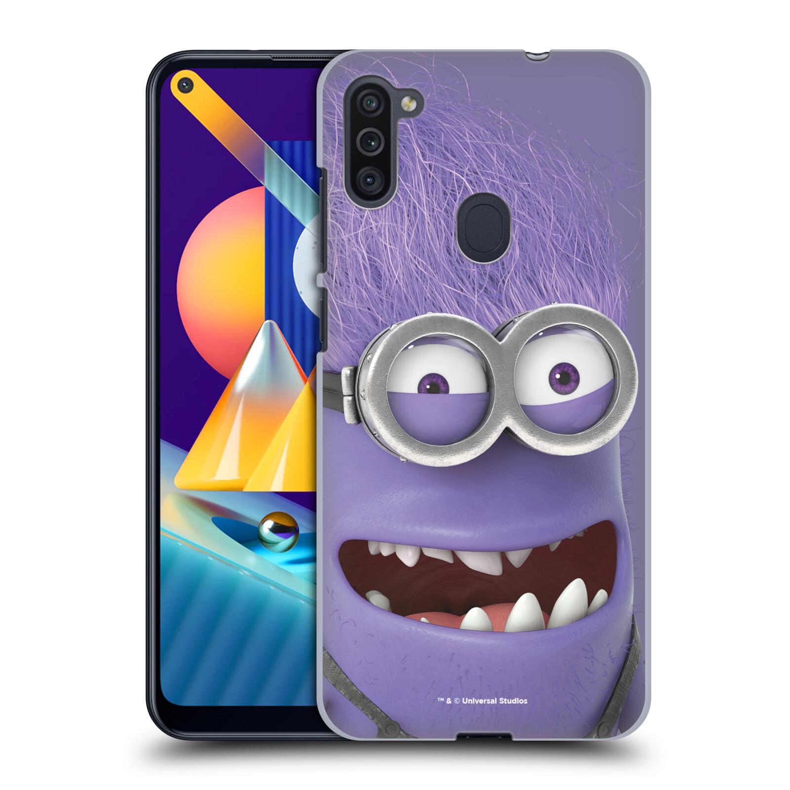 Plastové pouzdro na mobil Samsung Galaxy M11 - Head Case - Zlý Mimoň z filmu Já, padouch - Despicable Me