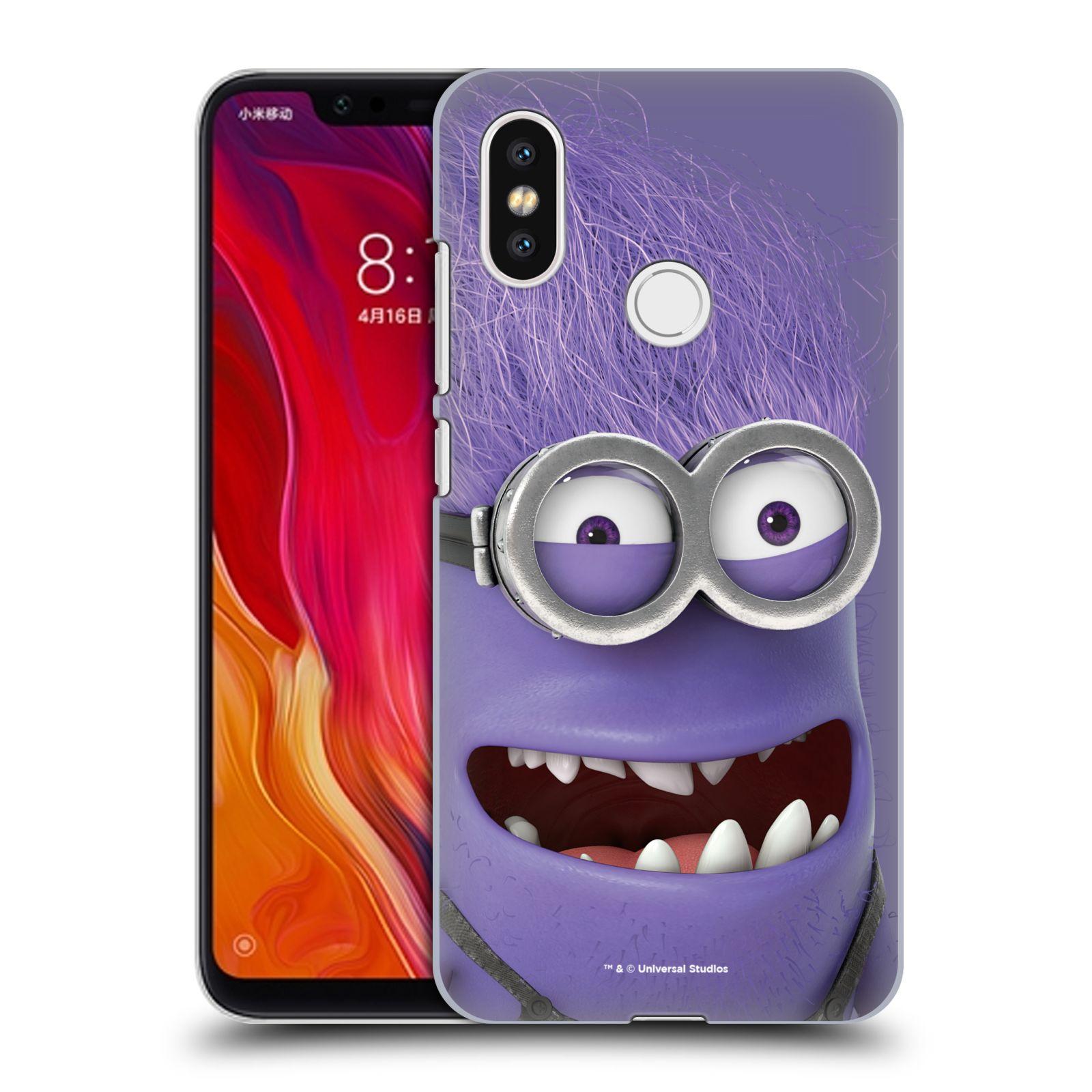 Plastové pouzdro na mobil Xiaomi Mi8 - Head Case - Zlý Mimoň z filmu Já, padouch - Despicable Me