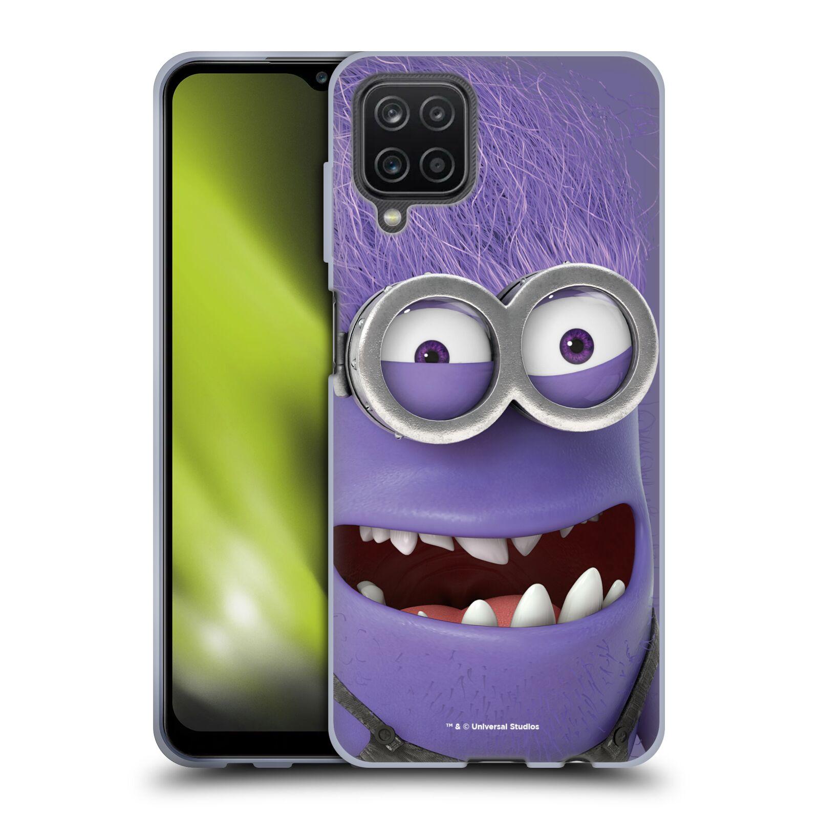 Silikonové pouzdro na mobil Samsung Galaxy A12 - Head Case - Zlý Mimoň z filmu Já, padouch - Despicable Me
