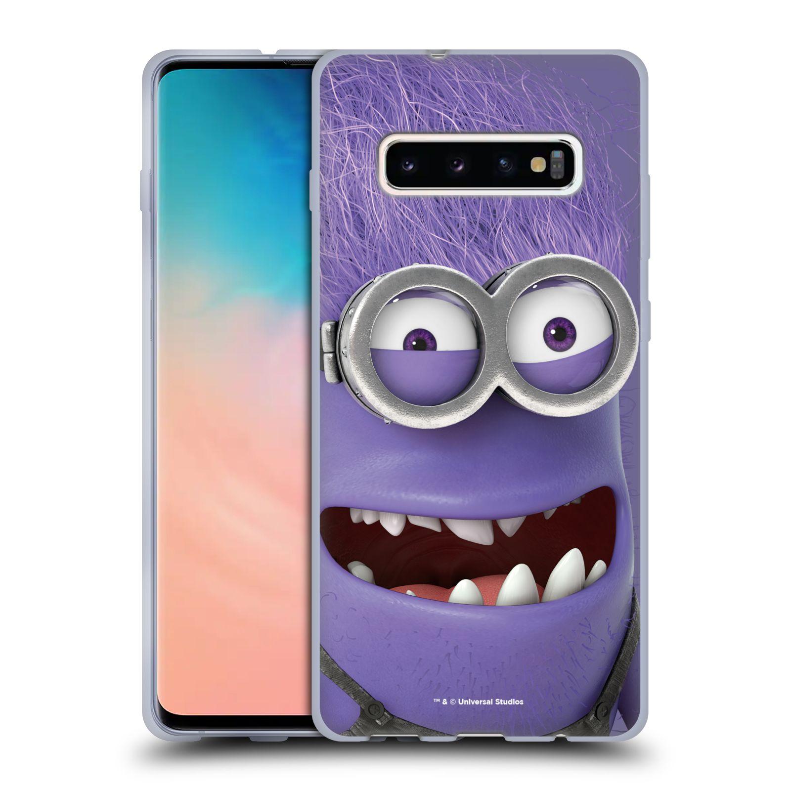 Silikonové pouzdro na mobil Samsung Galaxy S10 Plus - Head Case - Zlý Mimoň z filmu Já, padouch - Despicable Me