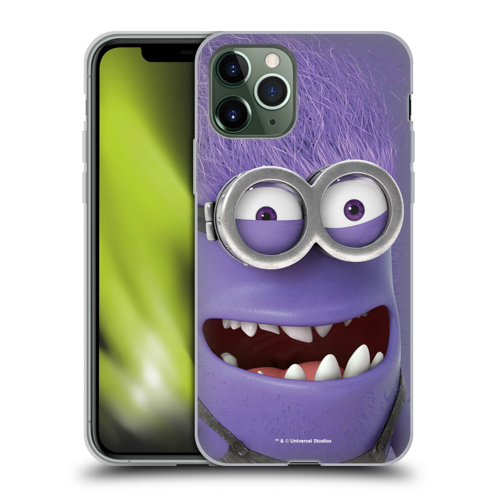 gucci iphone x phone cases , Silikonové pouzdro na mobil Apple iPhone 11 Pro - Head Case - Zlý Mimoň z filmu Já, padouch - Despicable Me