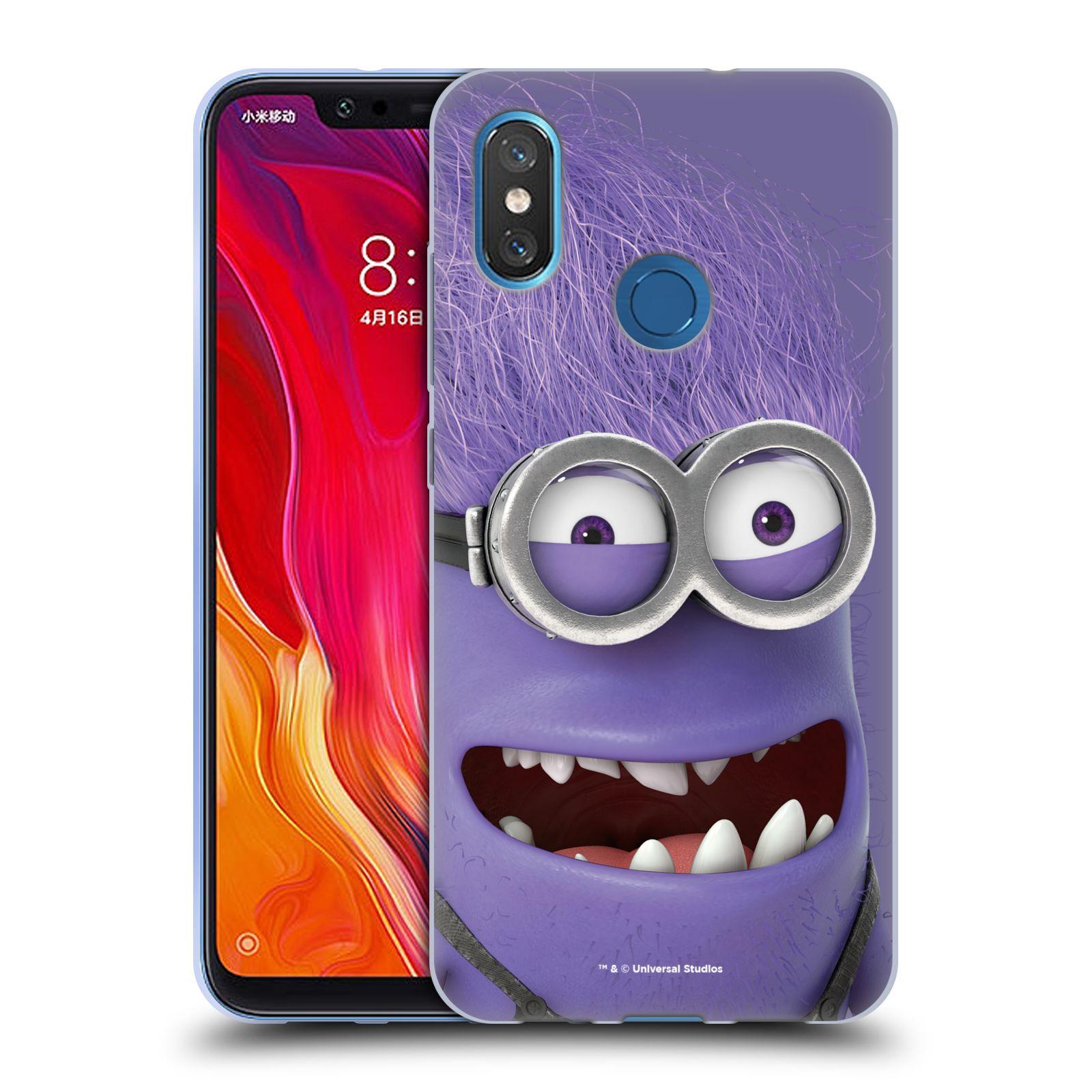 Silikonové pouzdro na mobil Xiaomi Mi8 - Head Case - Zlý Mimoň z filmu Já, padouch - Despicable Me