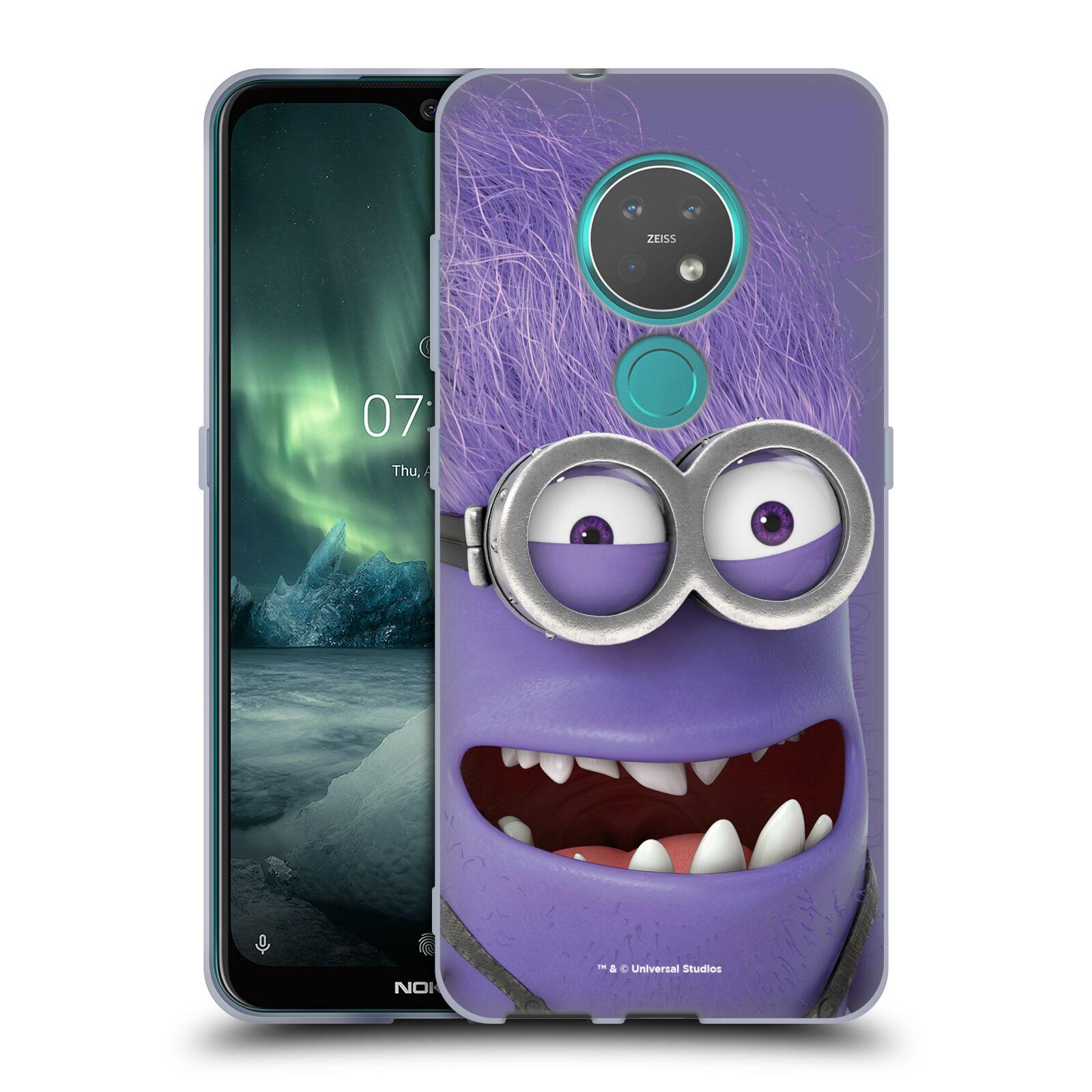 Silikonové pouzdro na mobil Nokia 6.2 - Head Case - Zlý Mimoň z filmu Já, padouch - Despicable Me