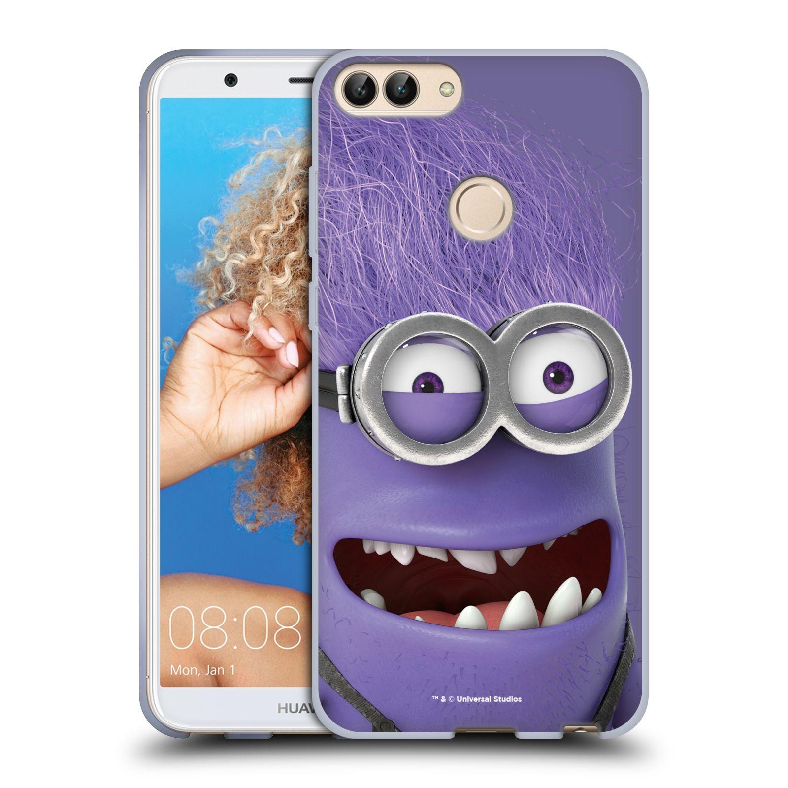 Silikonové pouzdro na mobil Huawei P Smart - Head Case - Zlý Mimoň z filmu Já, padouch - Despicable Me