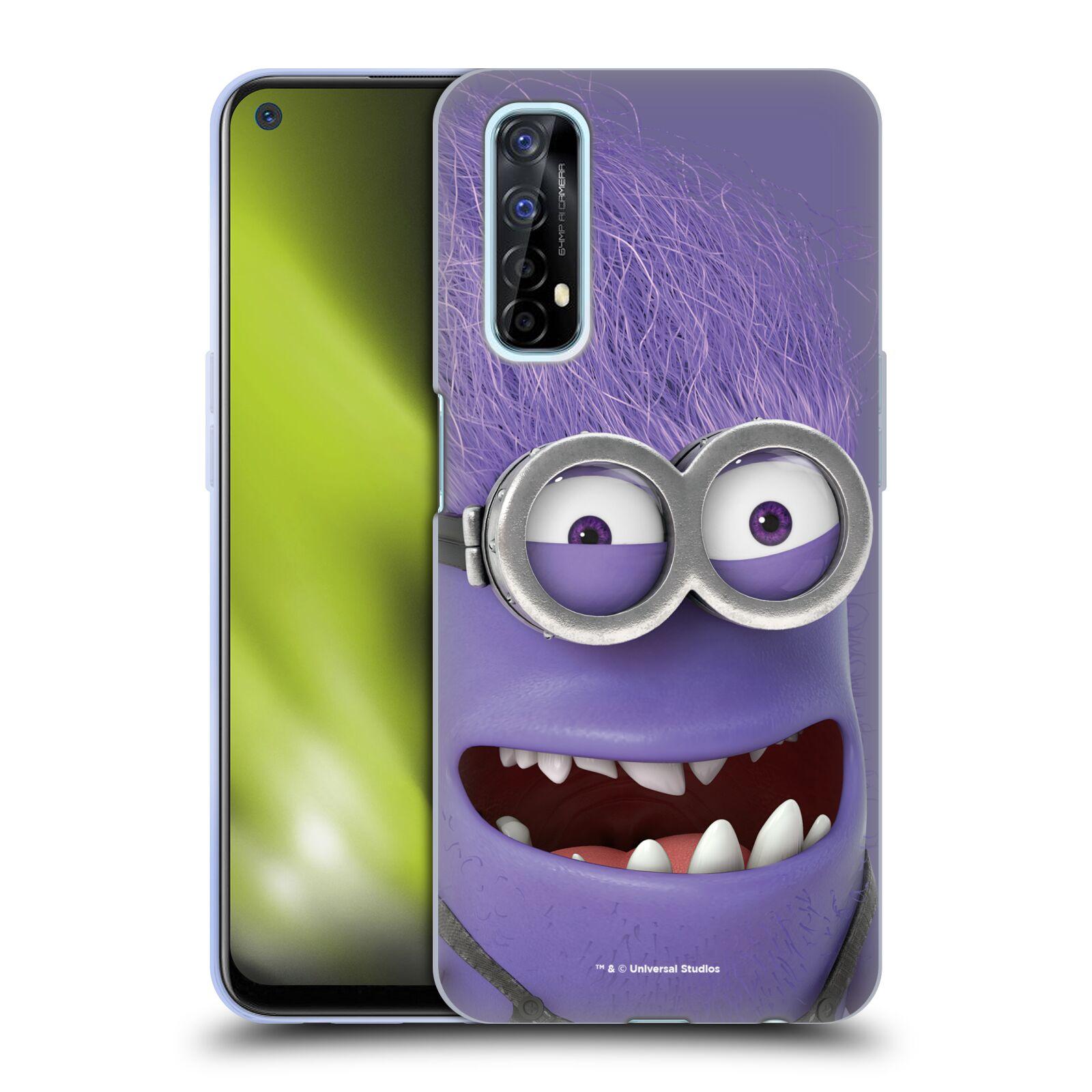Silikonové pouzdro na mobil Realme 7 - Head Case - Zlý Mimoň z filmu Já, padouch - Despicable Me