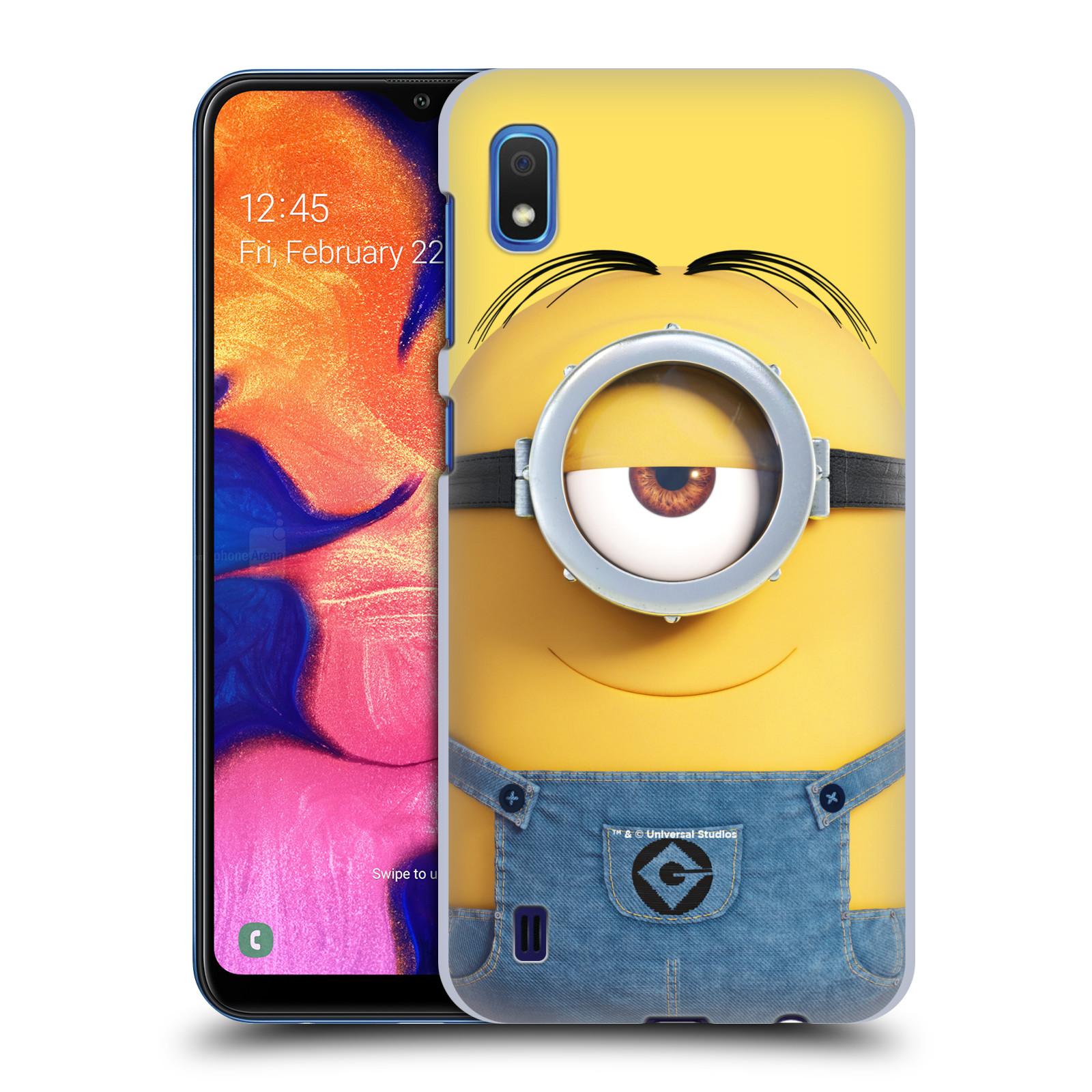 Plastové pouzdro na mobil Samsung Galaxy A10 - Head Case - Mimoň Stuart z filmu Já, padouch - Despicable Me