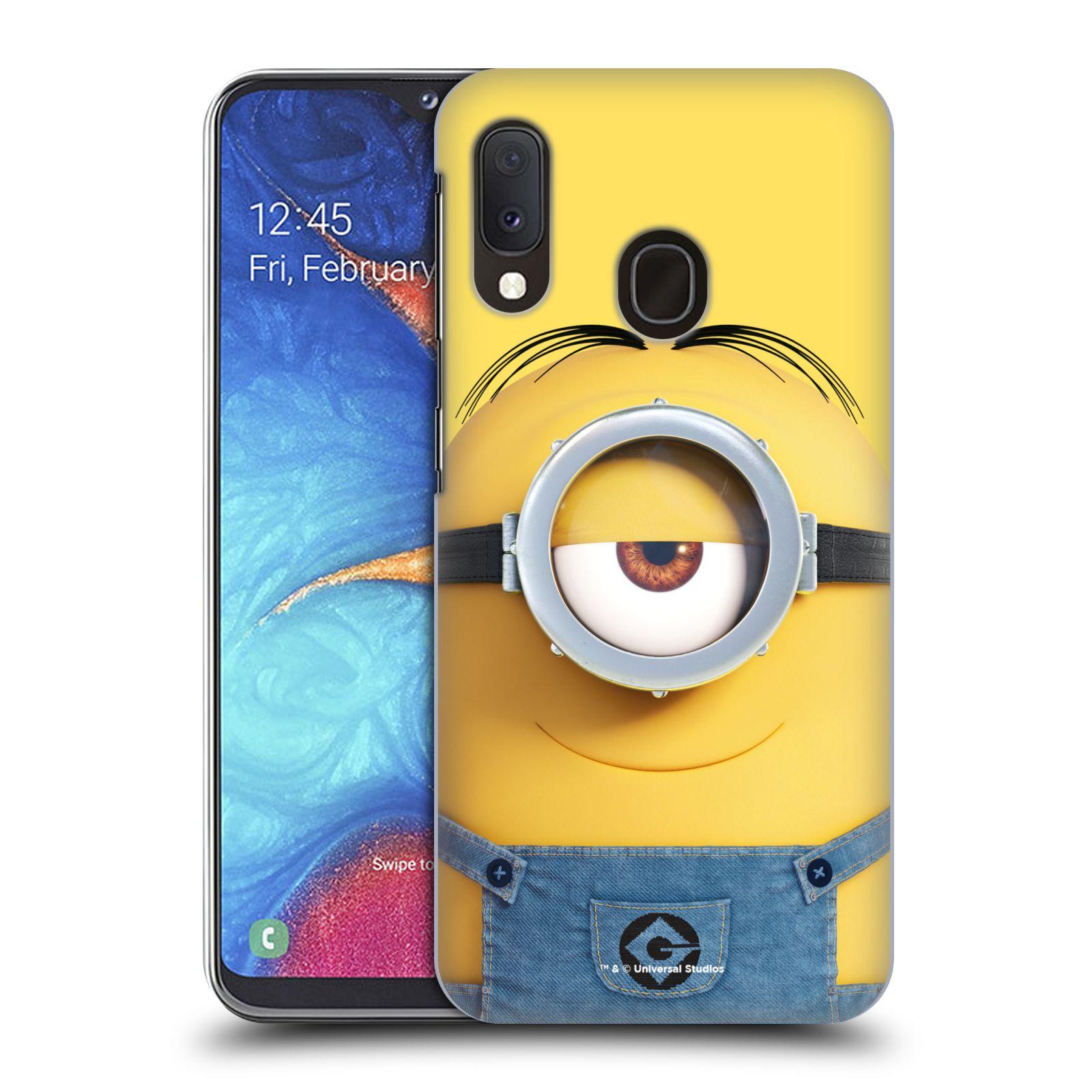 Plastové pouzdro na mobil Samsung Galaxy A20e - Head Case - Mimoň Stuart z filmu Já, padouch - Despicable Me