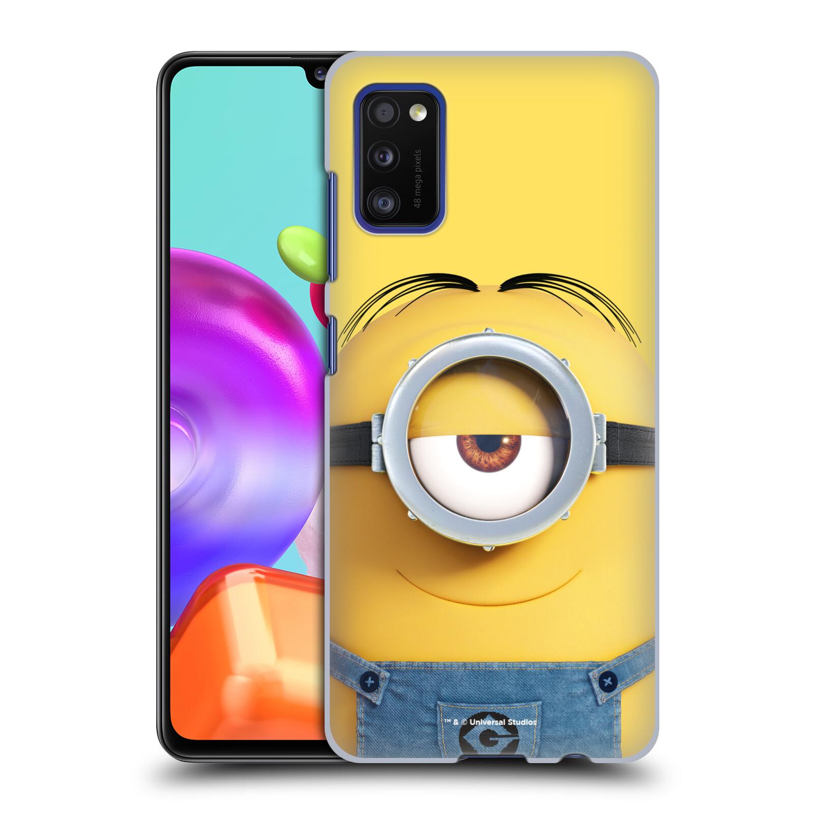 Plastové pouzdro na mobil Samsung Galaxy A41 - Head Case - Mimoň Stuart z filmu Já, padouch - Despicable Me