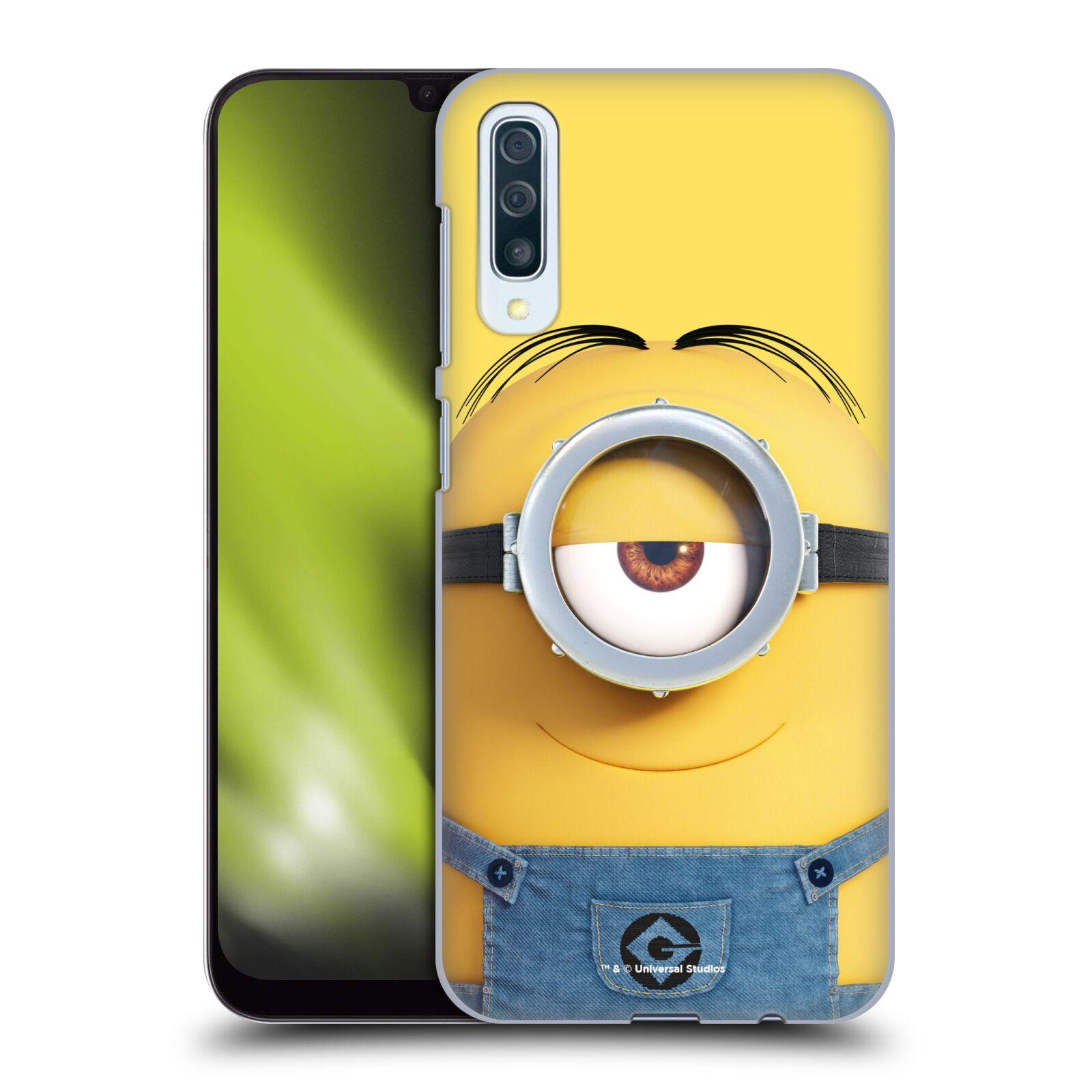 Plastové pouzdro na mobil Samsung Galaxy A50 - Head Case - Mimoň Stuart z filmu Já, padouch - Despicable Me