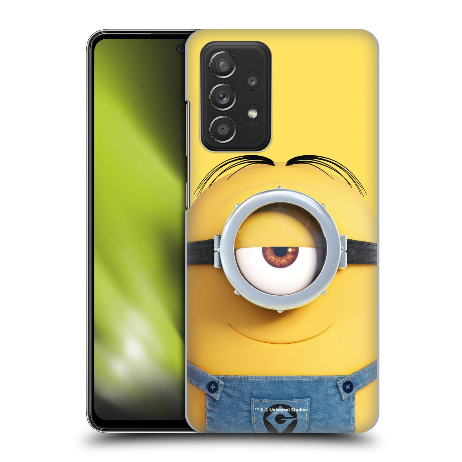 Plastové pouzdro na mobil Samsung Galaxy A52 / A52 5G / A52s 5G - Head Case - Mimoň Stuart z filmu Já, padouch - Despicable Me