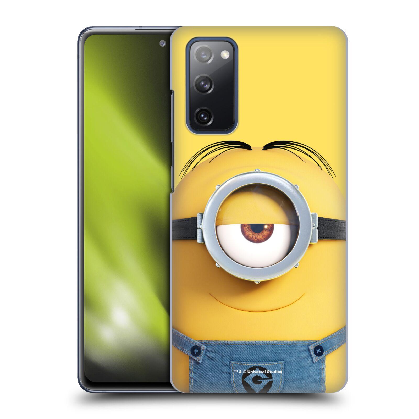 Plastové pouzdro na mobil Samsung Galaxy S20 FE - Head Case - Mimoň Stuart z filmu Já, padouch - Despicable Me