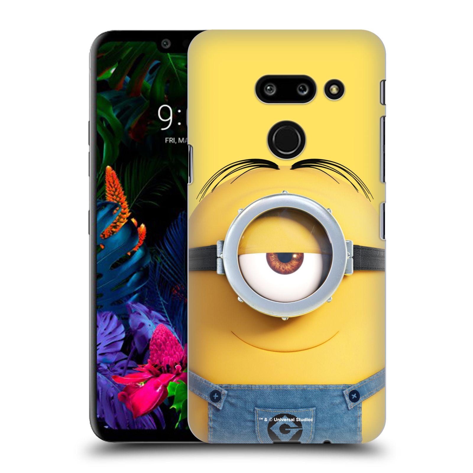 Plastové pouzdro na mobil LG G8 ThinQ - Head Case - Mimoň Stuart z filmu Já, padouch - Despicable Me