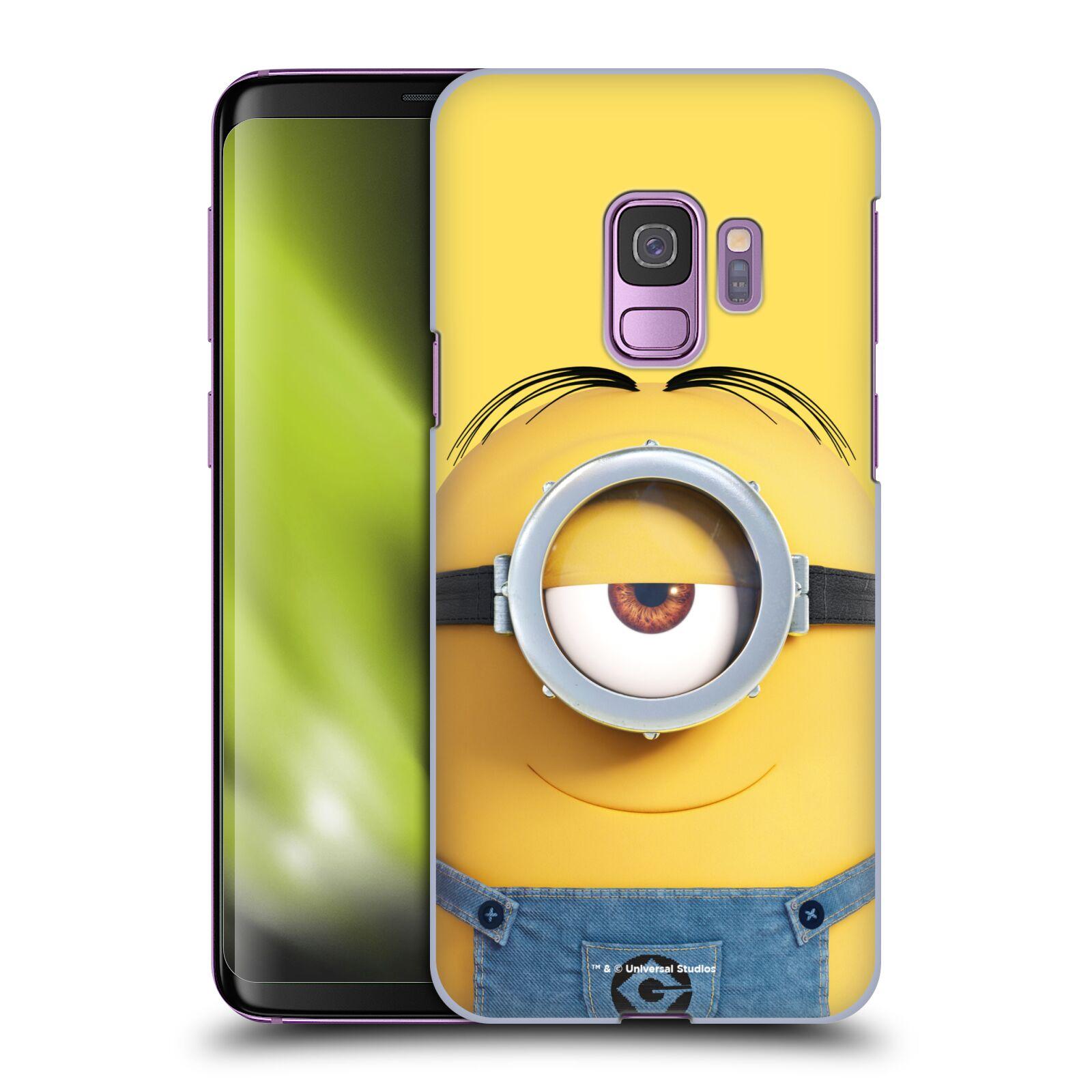 Plastové pouzdro na mobil Samsung Galaxy S9 - Head Case - Mimoň Stuart z filmu Já, padouch - Despicable Me