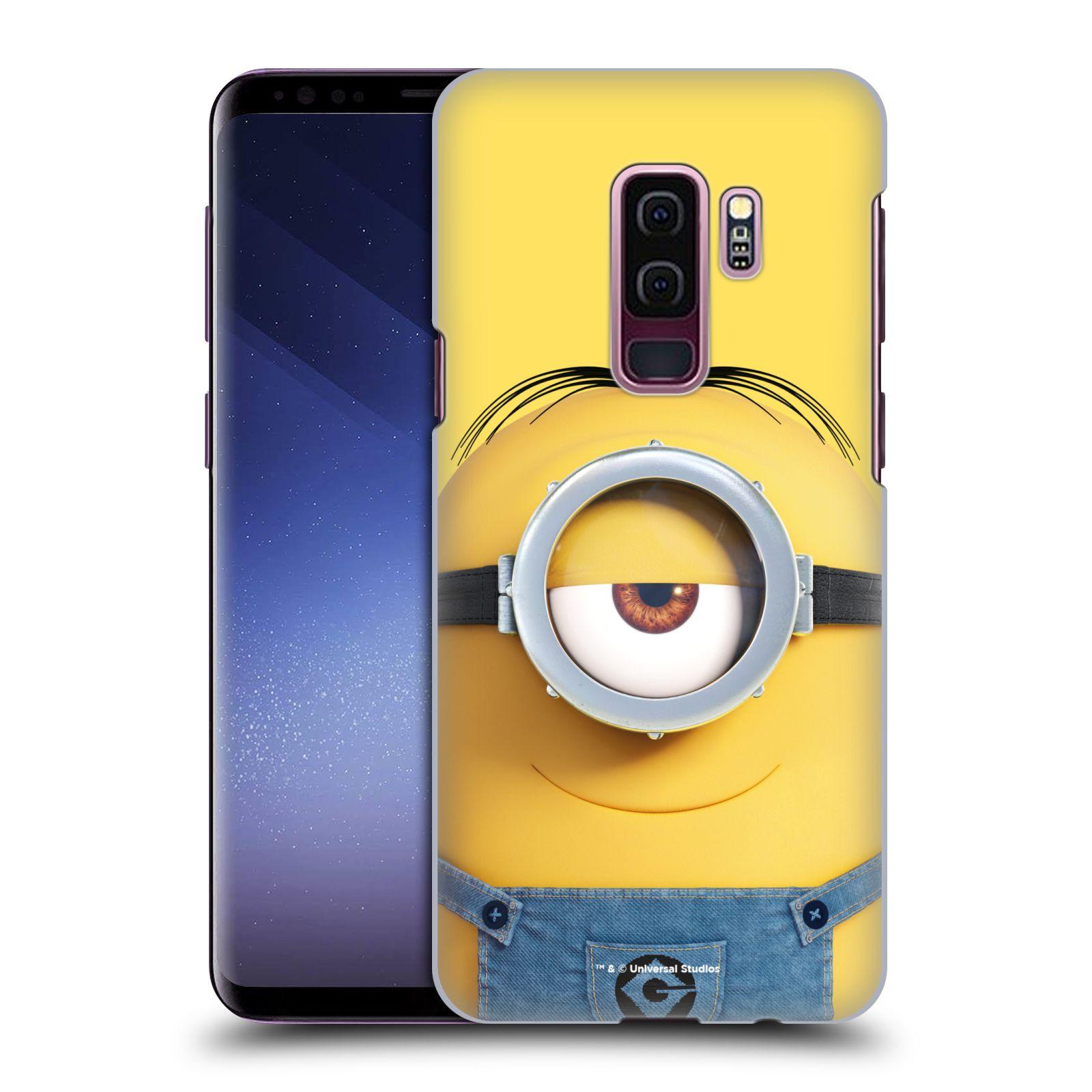 Plastové pouzdro na mobil Samsung Galaxy S9 Plus - Head Case - Mimoň Stuart z filmu Já, padouch - Despicable Me