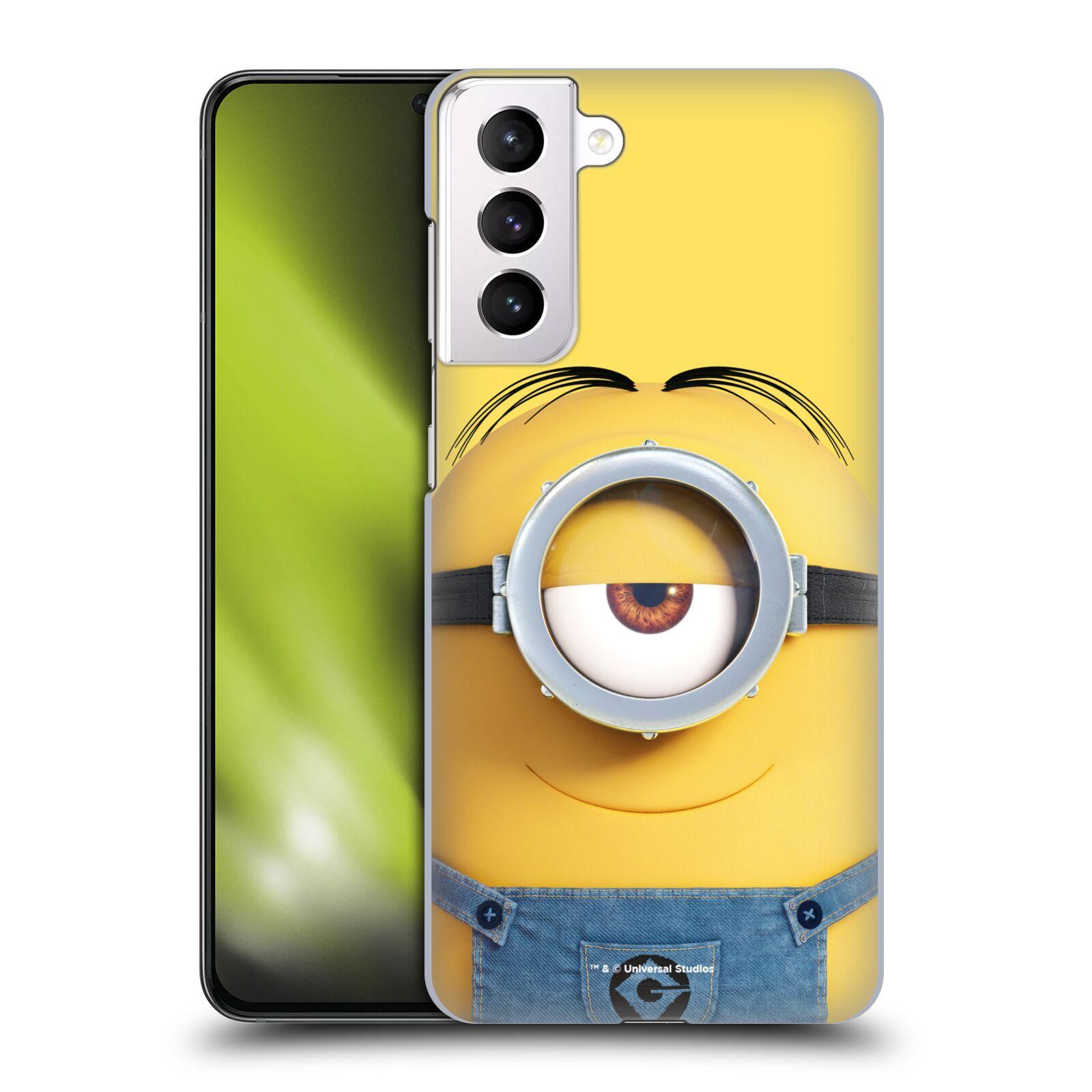 Plastové pouzdro na mobil Samsung Galaxy S21 Plus 5G - Head Case - Mimoň Stuart z filmu Já, padouch - Despicable Me