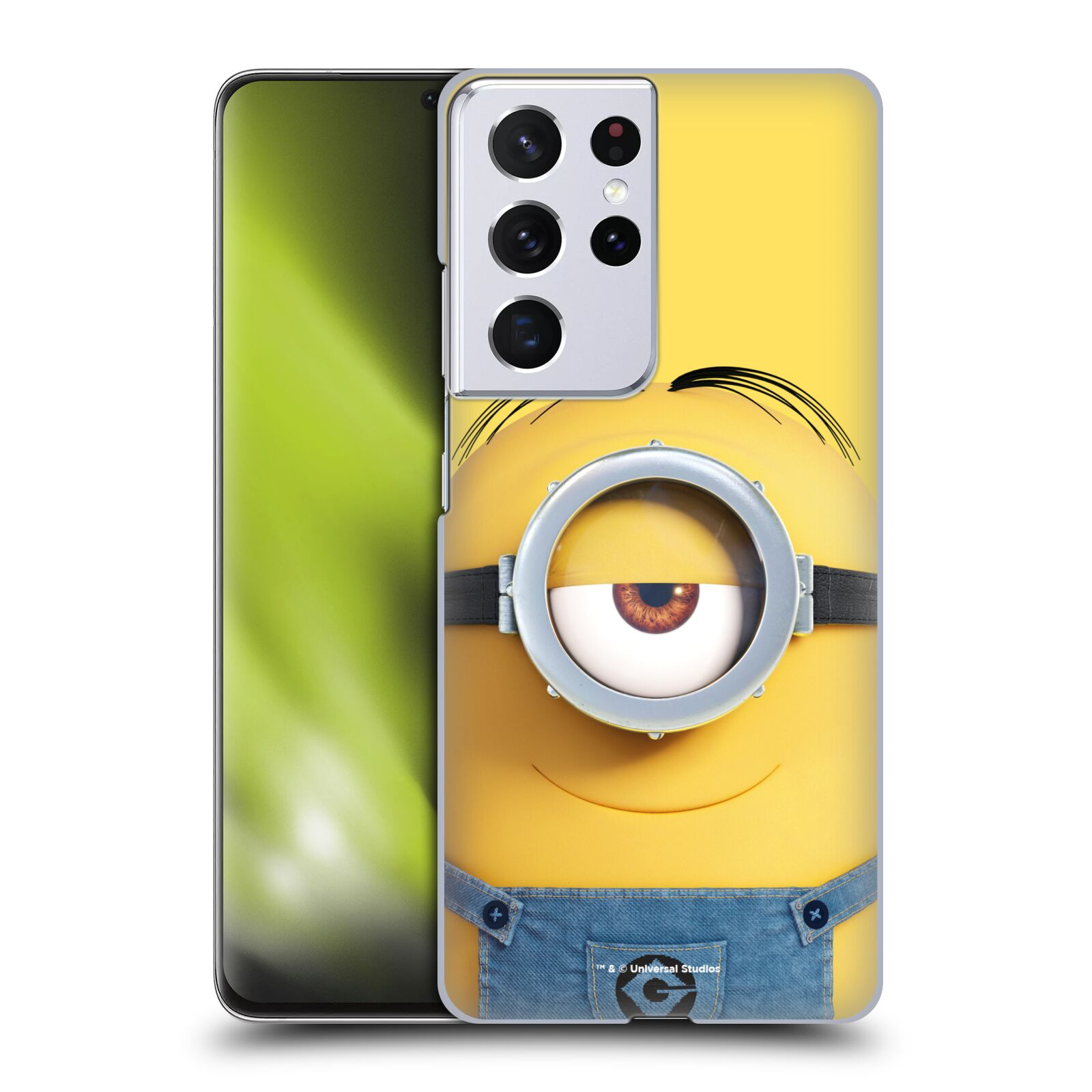 Plastové pouzdro na mobil Samsung Galaxy S21 Ultra 5G - Head Case - Mimoň Stuart z filmu Já, padouch - Despicable Me