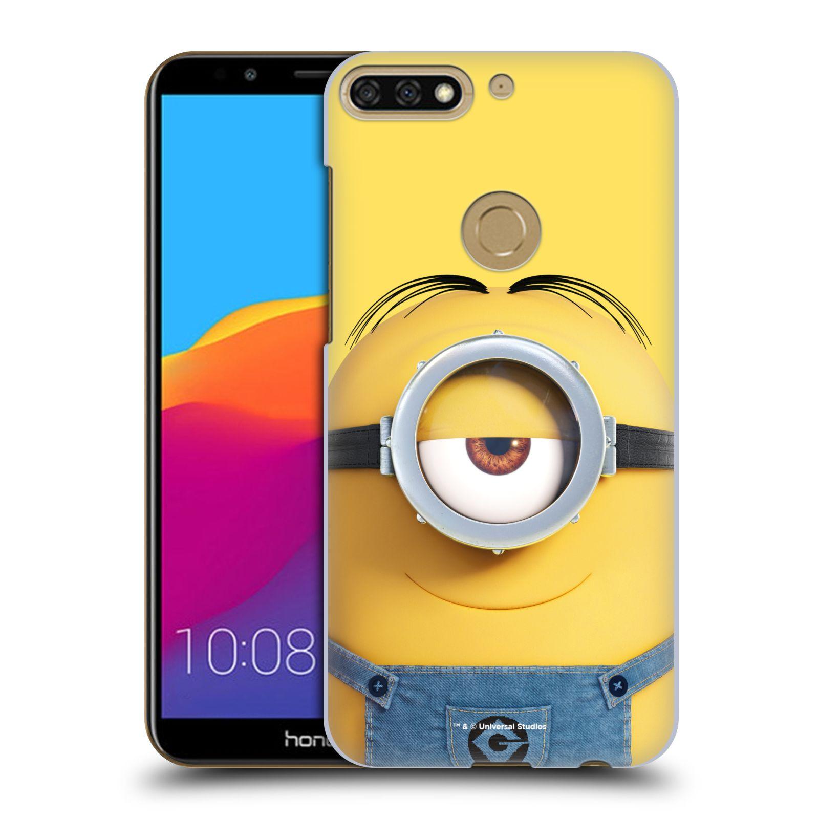 Plastové pouzdro na mobil Huawei Y7 Prime 2018 - Head Case - Mimoň Stuart z filmu Já, padouch - Despicable Me