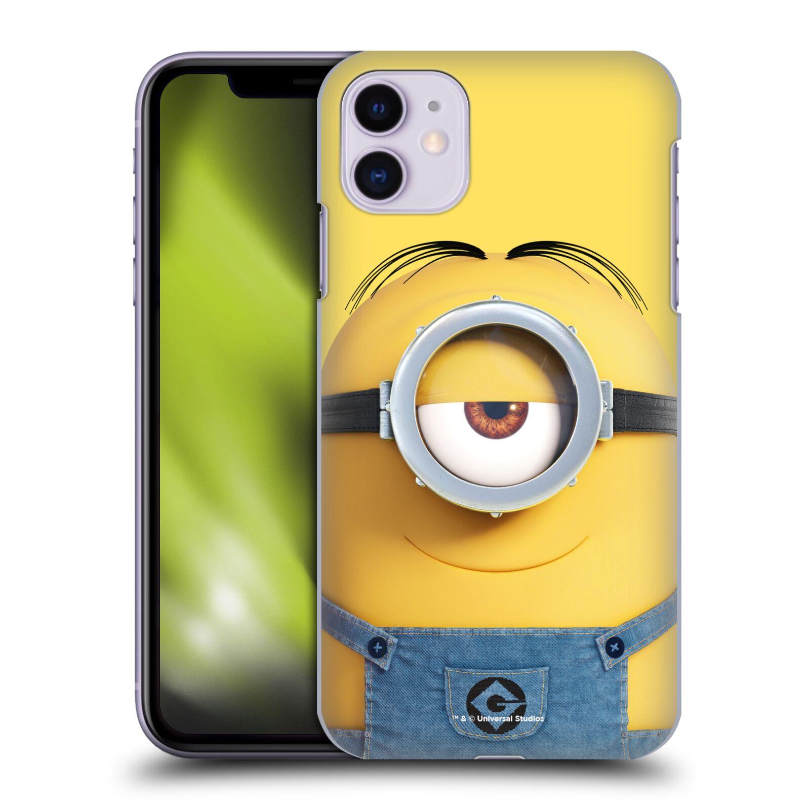 Plastové pouzdro na mobil Apple iPhone 11 - Head Case - Mimoň Stuart z filmu Já, padouch - Despicable Me