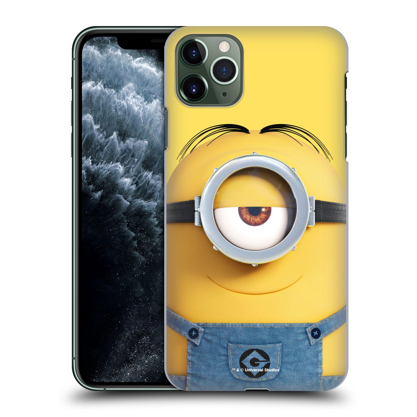 Plastové pouzdro na mobil Apple iPhone 11 Pro Max - Head Case - Mimoň Stuart z filmu Já, padouch - Despicable Me