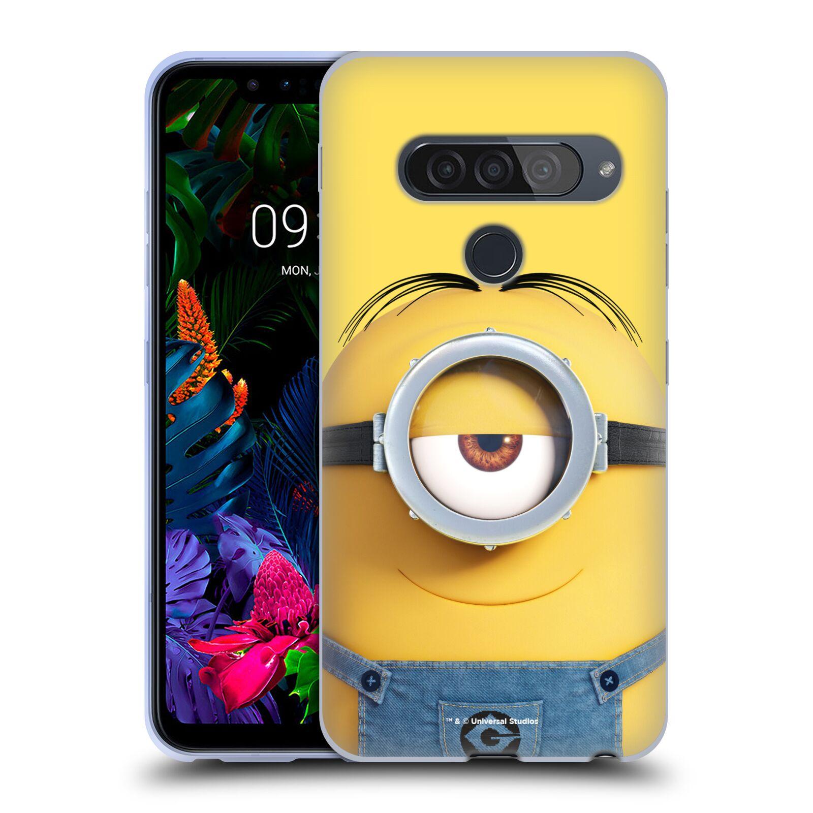 Silikonové pouzdro na mobil LG G8s ThinQ - Head Case - Mimoň Stuart z filmu Já, padouch - Despicable Me