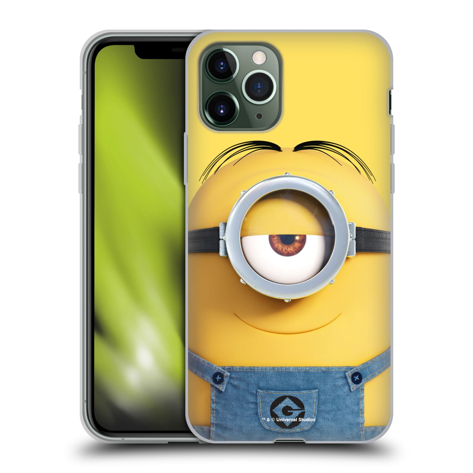 gucci iphone 7 plus phone case | Silikonové pouzdro na mobil Apple iPhone 11 Pro - Head Case - Mimoň Stuart z filmu Já, padouch - Despicable Me