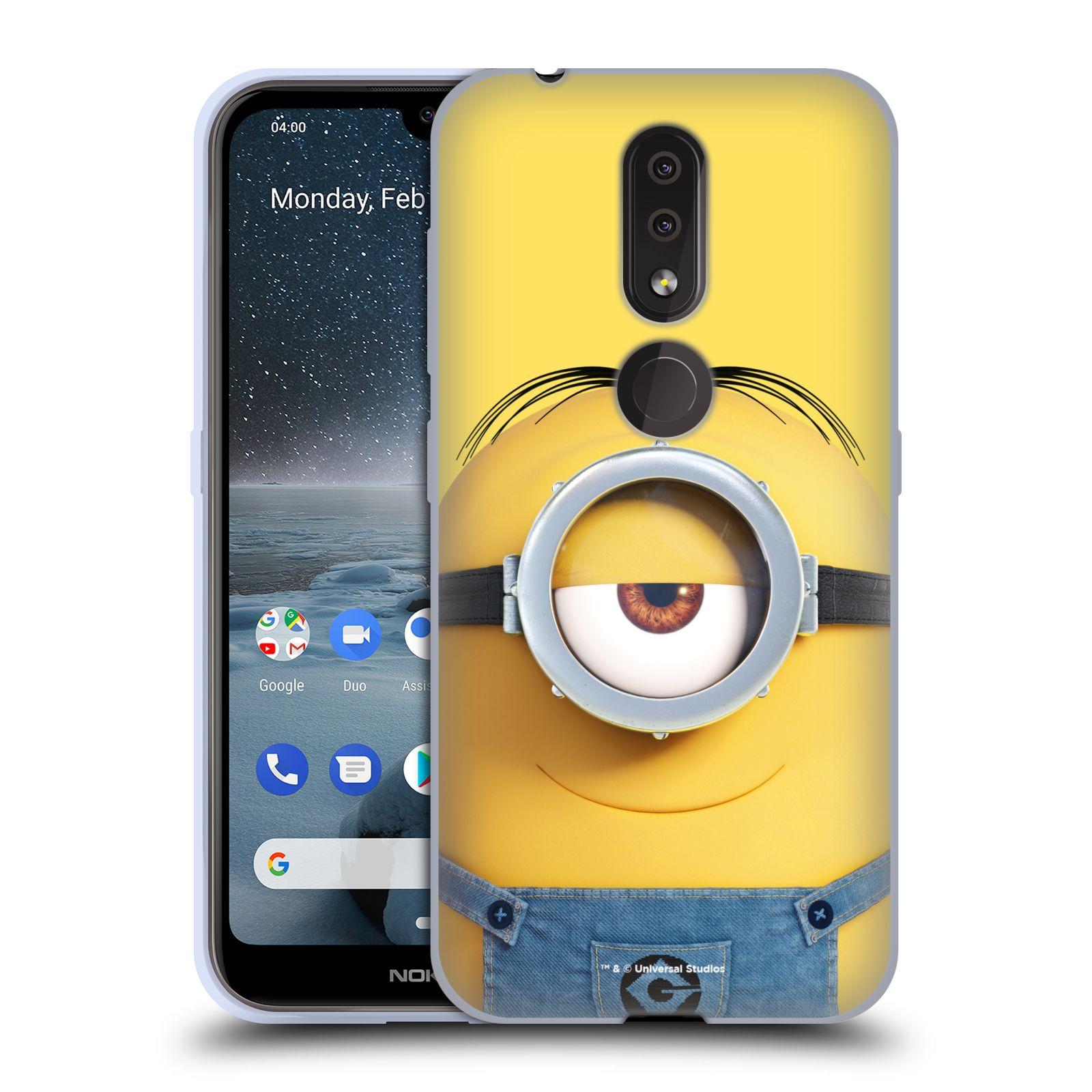 Silikonové pouzdro na mobil Nokia 4.2 - Head Case - Mimoň Stuart z filmu Já, padouch - Despicable Me