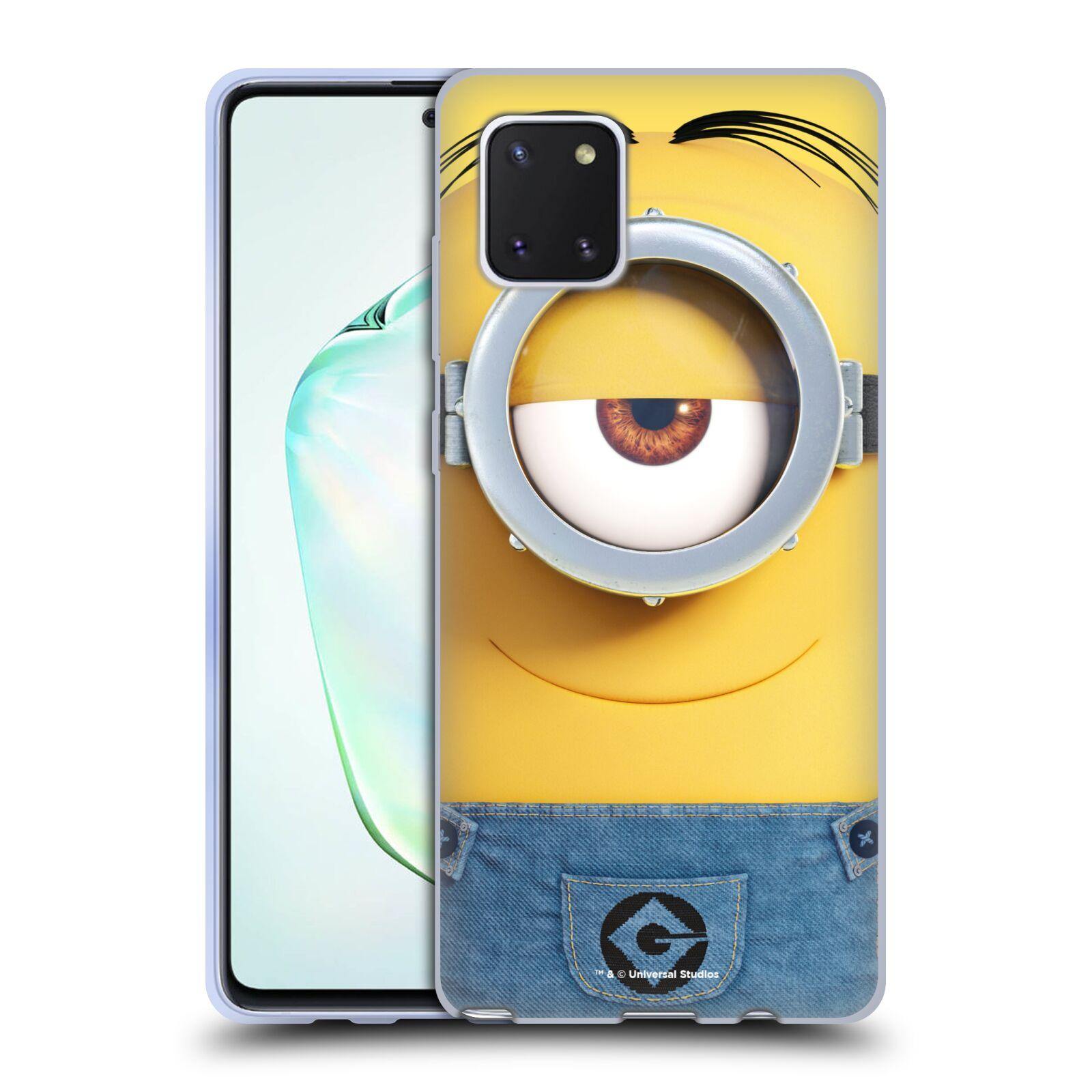Silikonové pouzdro na mobil Samsung Galaxy Note 10 Lite - Head Case - Mimoň Stuart z filmu Já, padouch - Despicable Me