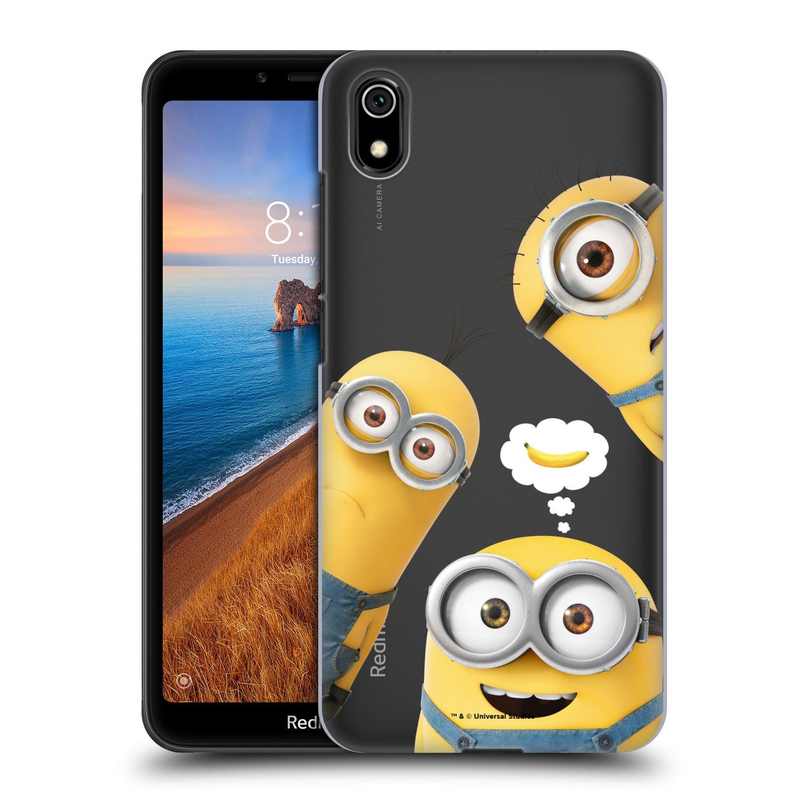 Plastové pouzdro na mobil Xiaomi Redmi 7A - Head Case - Mimoni Banana z filmu Já, padouch - Despicable Me