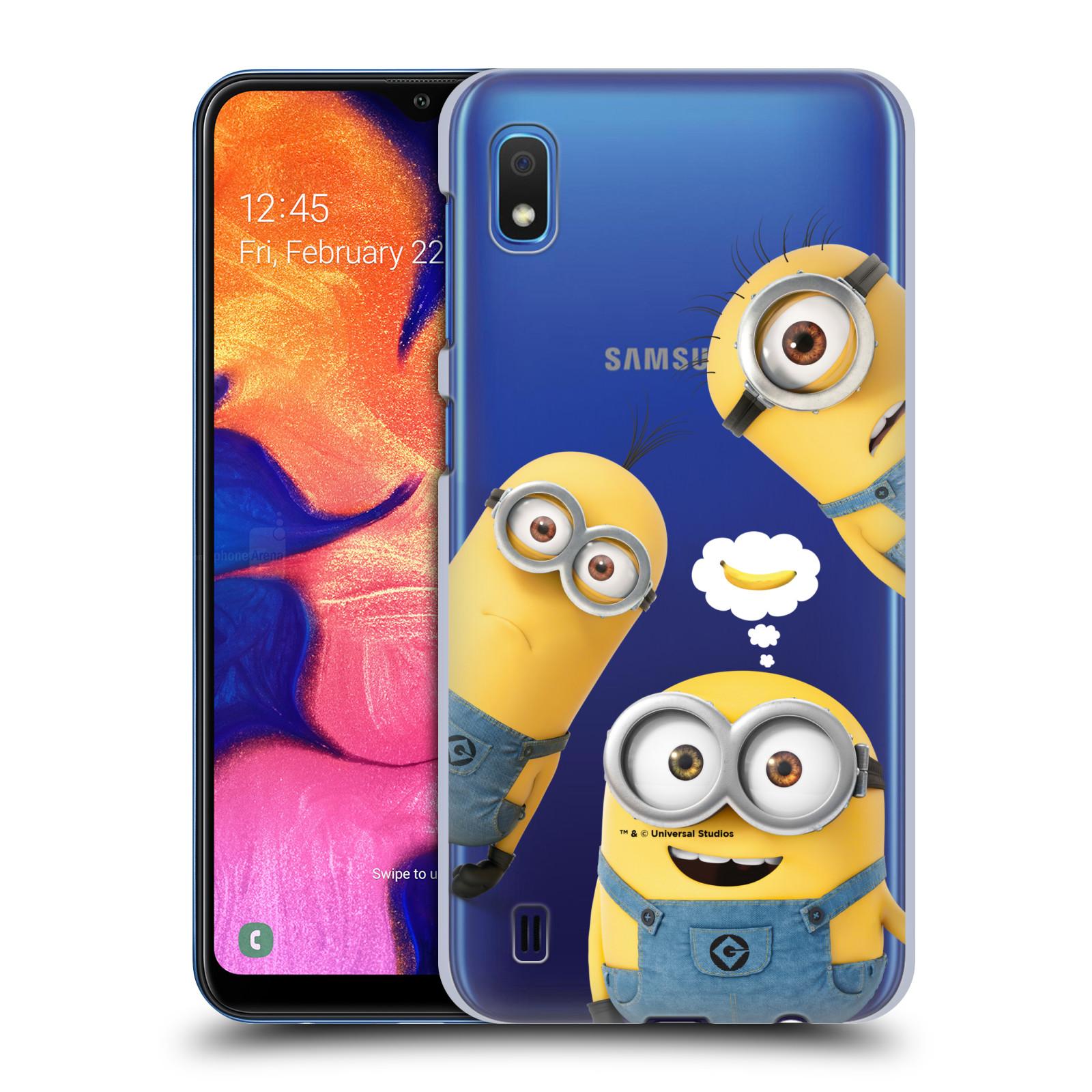 Plastové pouzdro na mobil Samsung Galaxy A10 - Head Case - Mimoni Banana z filmu Já, padouch - Despicable Me