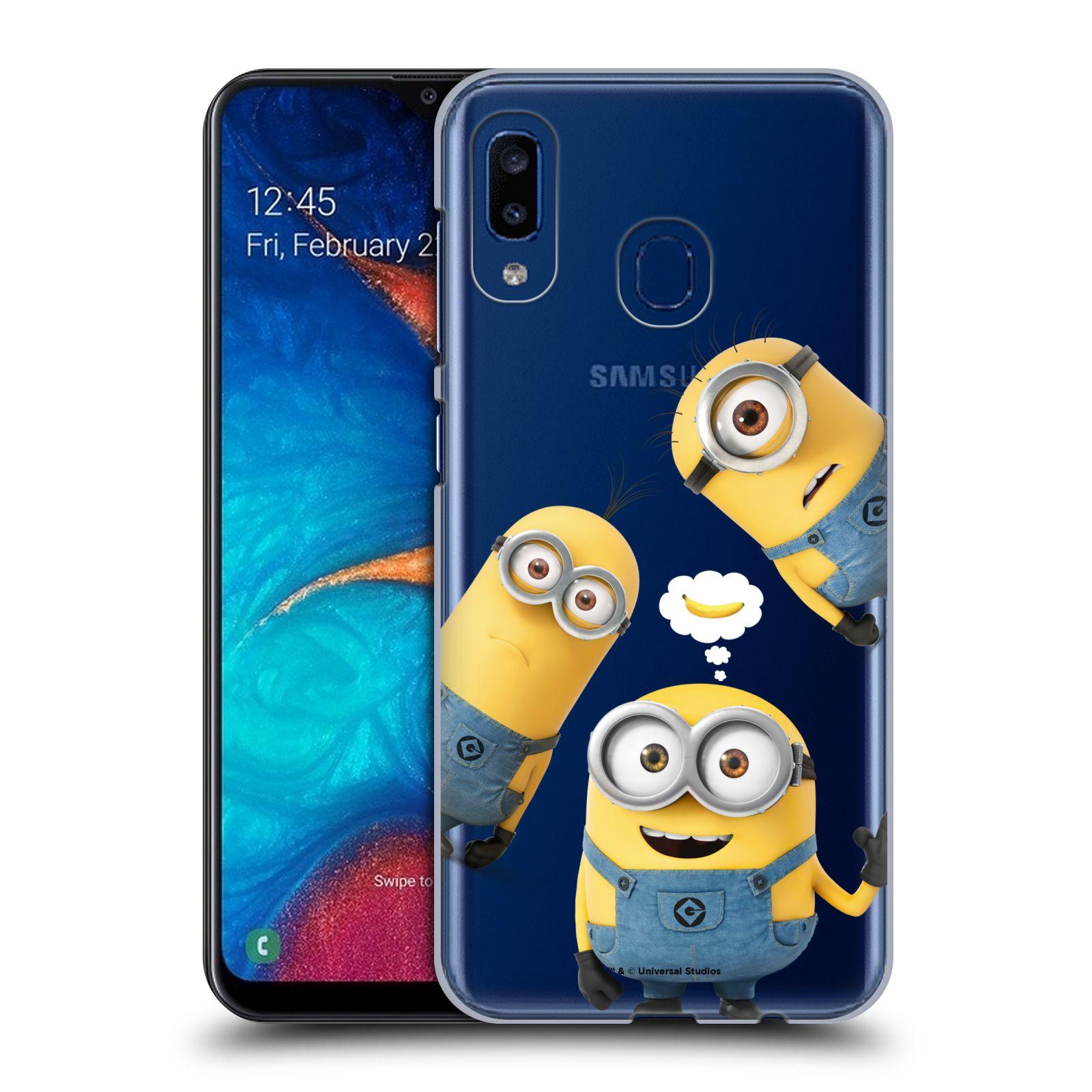 Plastové pouzdro na mobil Samsung Galaxy A20 - Head Case - Mimoni Banana z filmu Já, padouch - Despicable Me