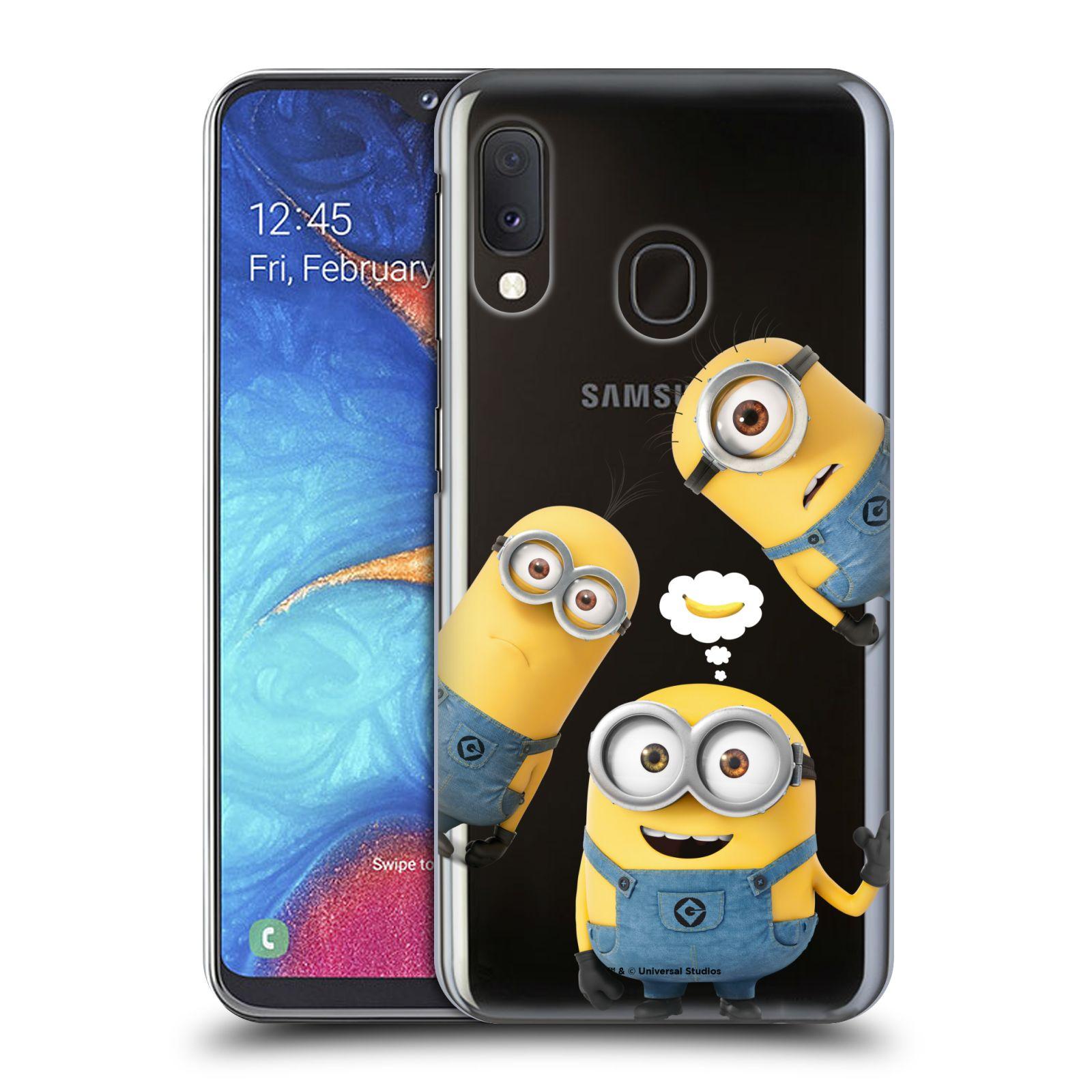 Plastové pouzdro na mobil Samsung Galaxy A20e - Head Case - Mimoni Banana z filmu Já, padouch - Despicable Me