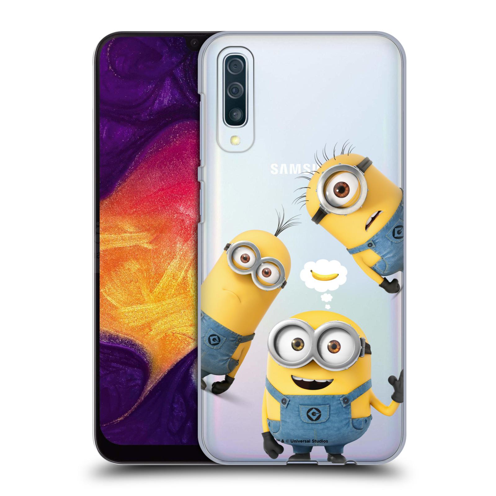 Plastové pouzdro na mobil Samsung Galaxy A50 - Head Case - Mimoni Banana z filmu Já, padouch - Despicable Me