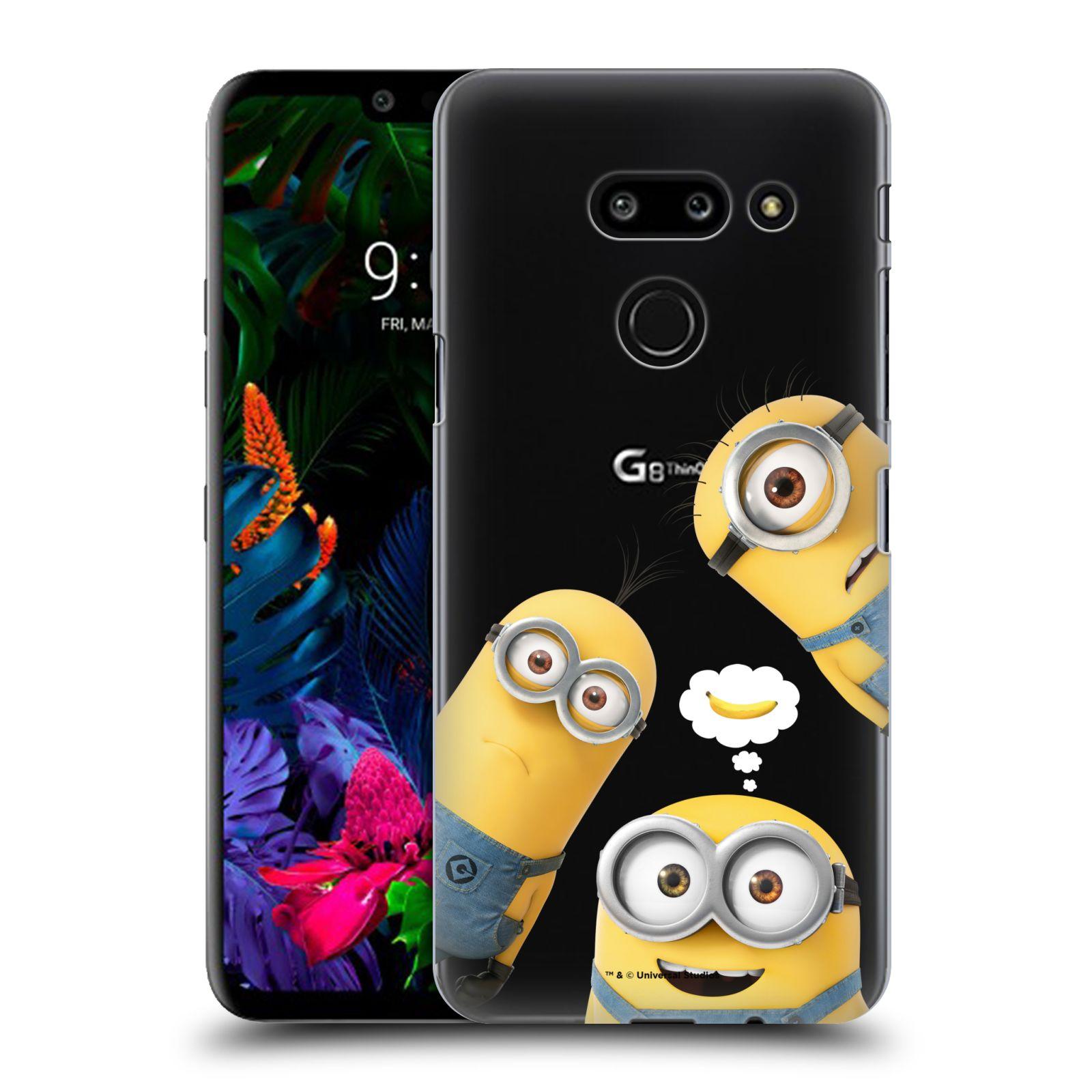Plastové pouzdro na mobil LG G8 ThinQ - Head Case - Mimoni Banana z filmu Já, padouch - Despicable Me