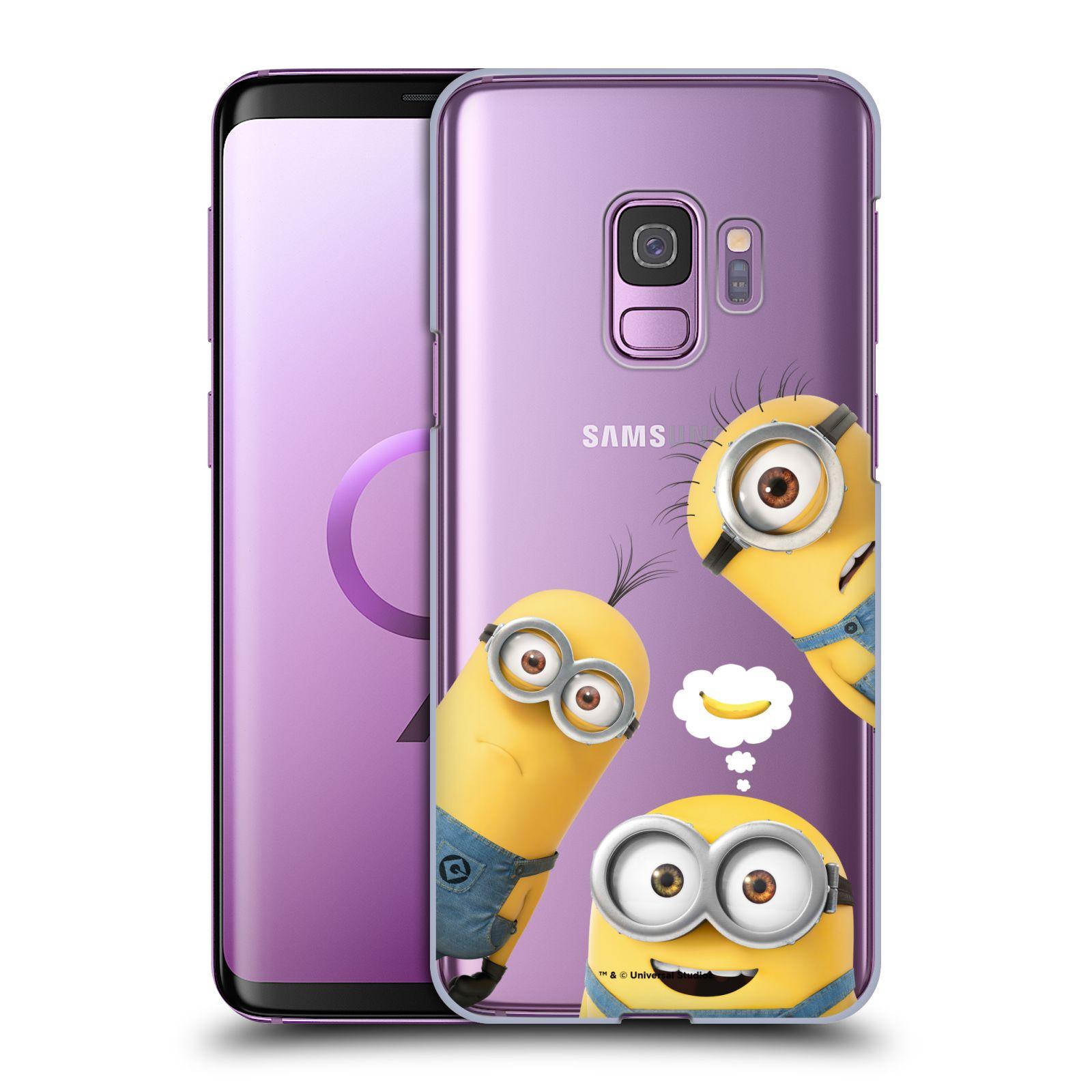 Plastové pouzdro na mobil Samsung Galaxy S9 - Head Case - Mimoni Banana z filmu Já, padouch - Despicable Me