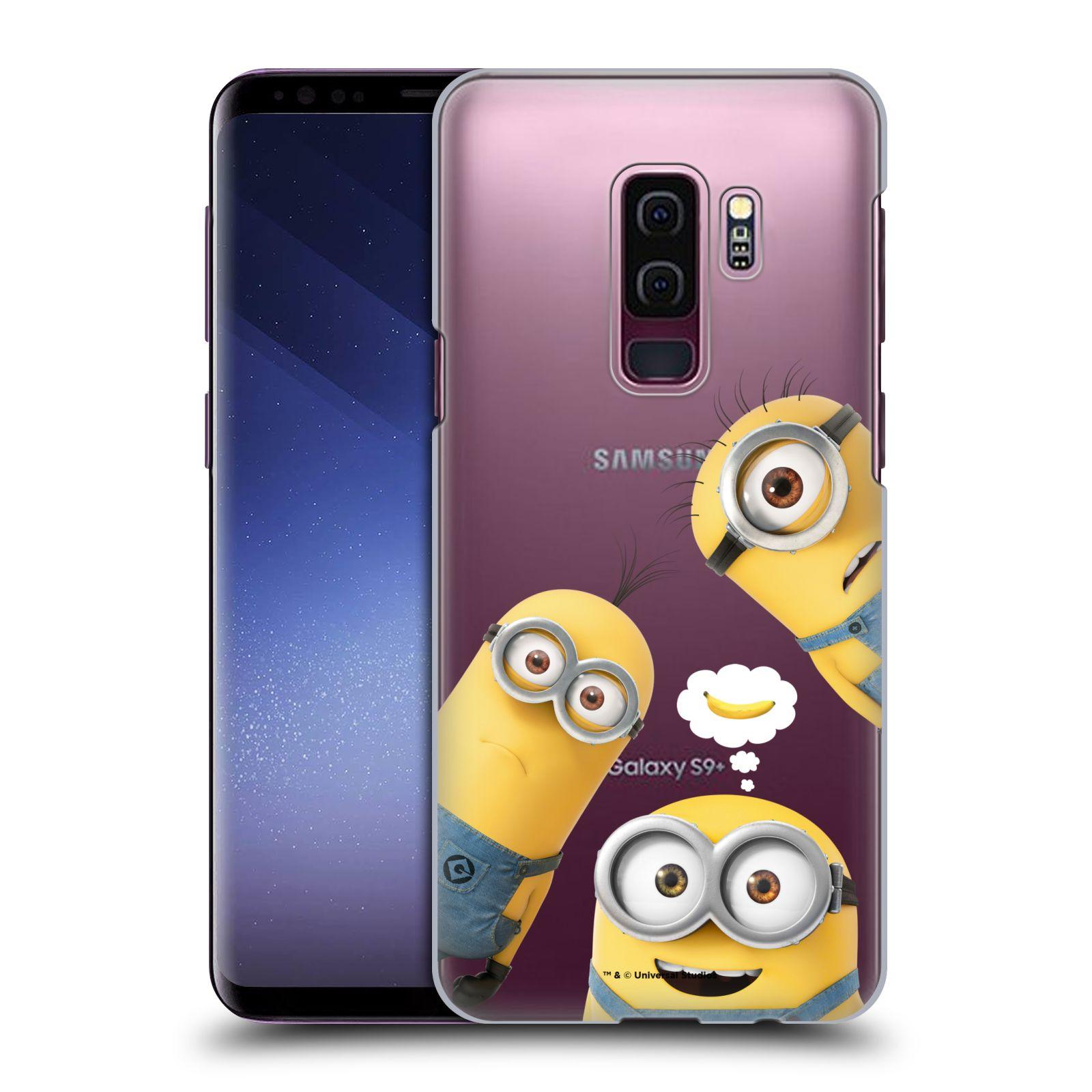 Plastové pouzdro na mobil Samsung Galaxy S9 Plus - Head Case - Mimoni Banana z filmu Já, padouch - Despicable Me