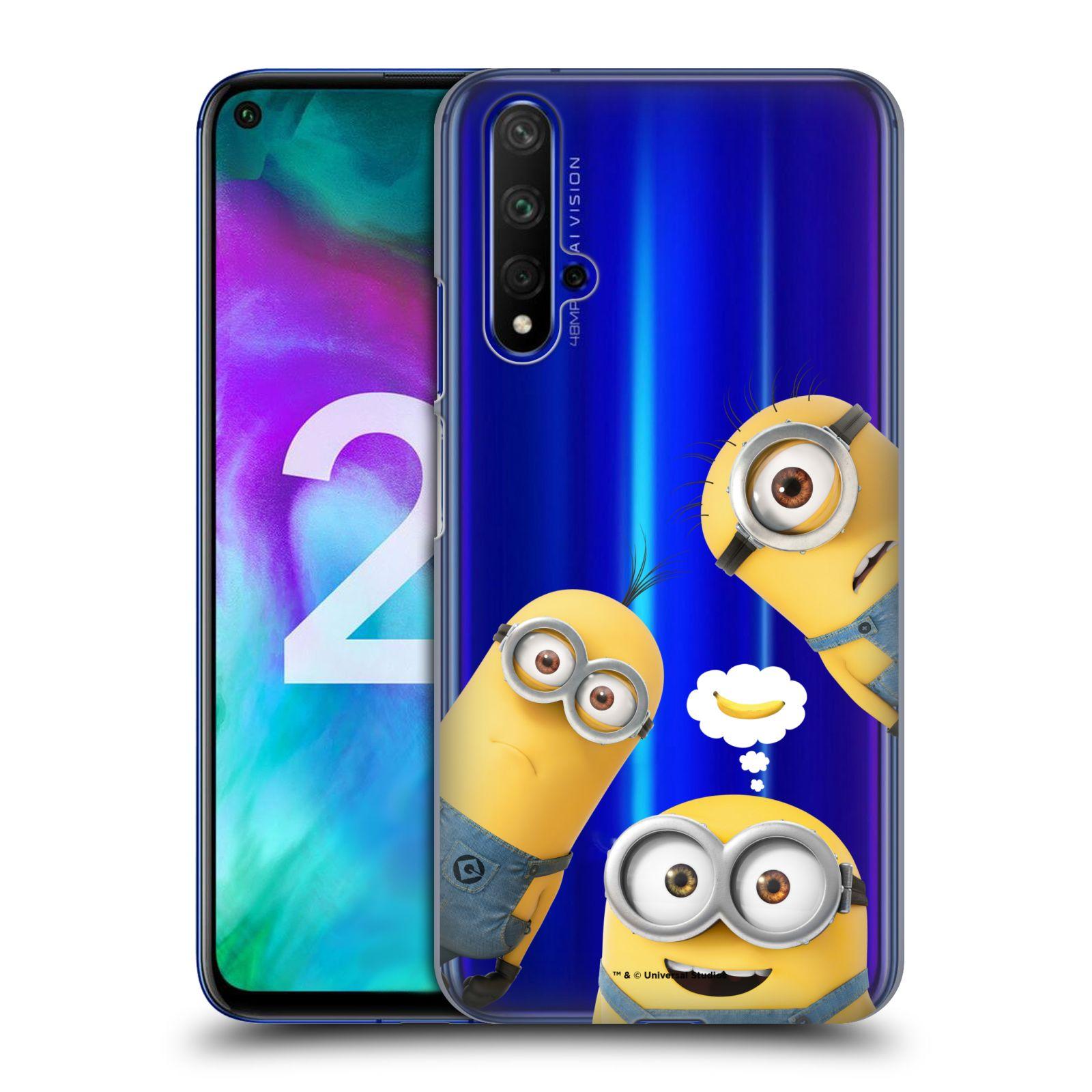 Plastové pouzdro na mobil Honor 20 - Head Case - Mimoni Banana z filmu Já, padouch - Despicable Me