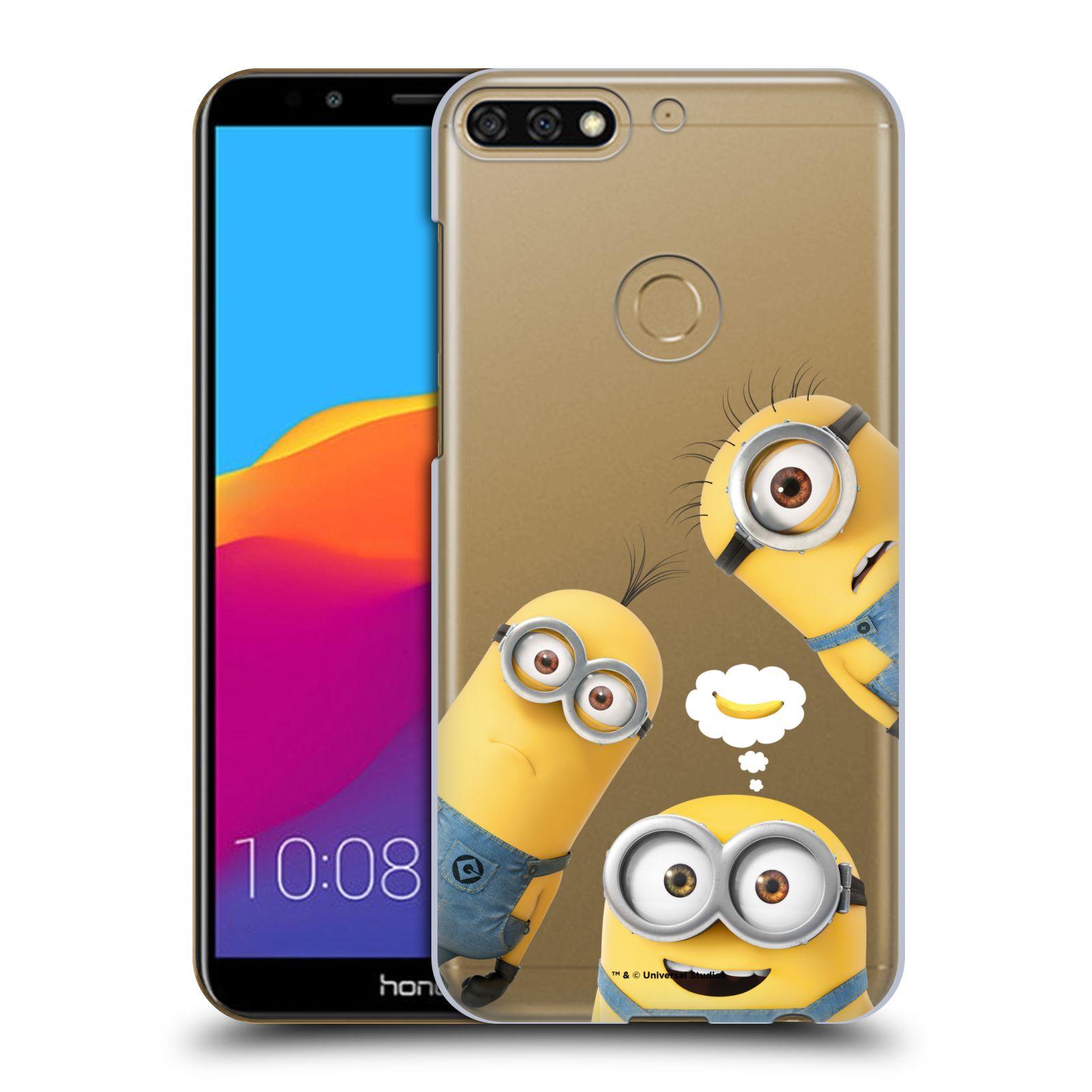 Plastové pouzdro na mobil Huawei Y7 Prime 2018 - Head Case - Mimoni Banana z filmu Já, padouch - Despicable Me