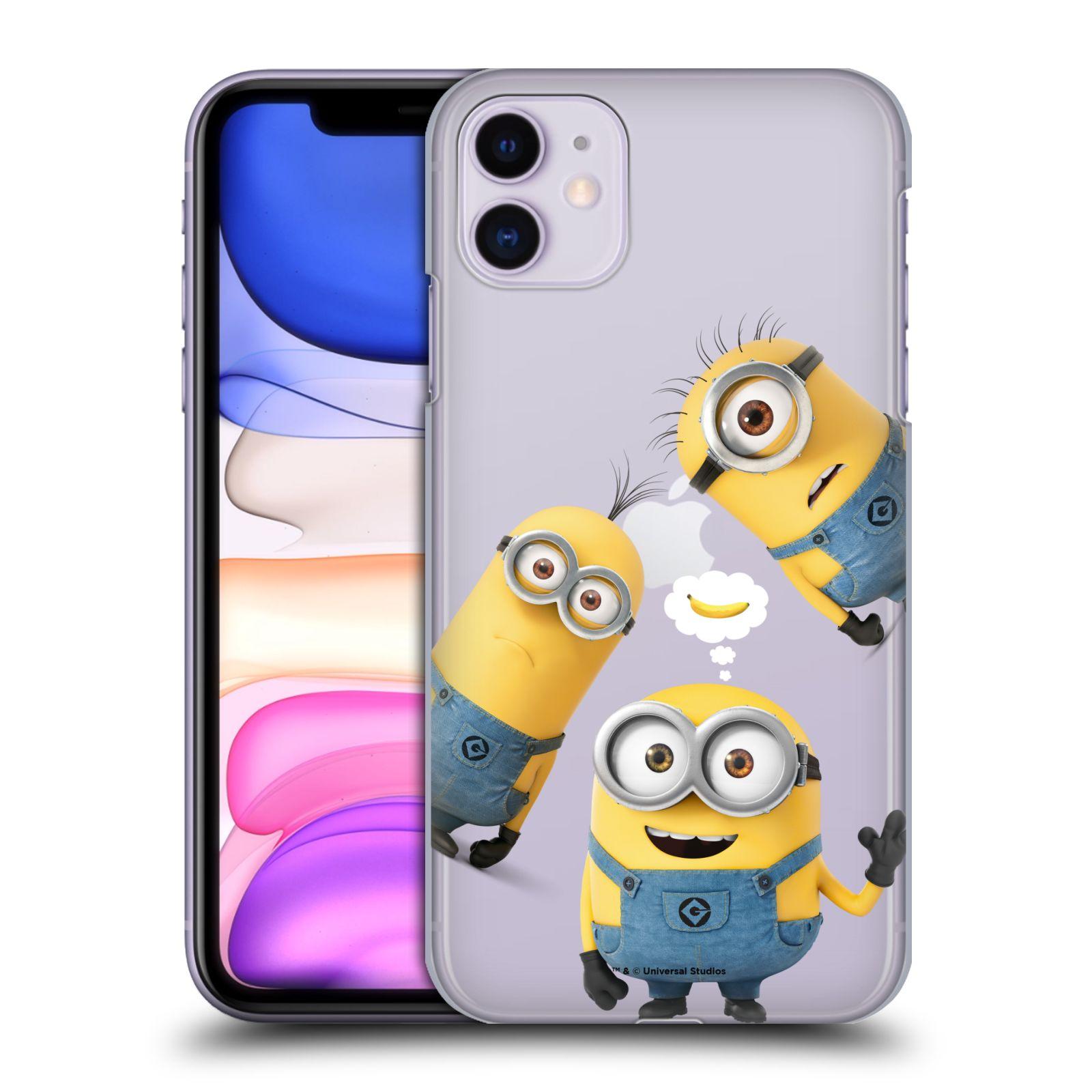 Plastové pouzdro na mobil Apple iPhone 11 - Head Case - Mimoni Banana z filmu Já, padouch - Despicable Me