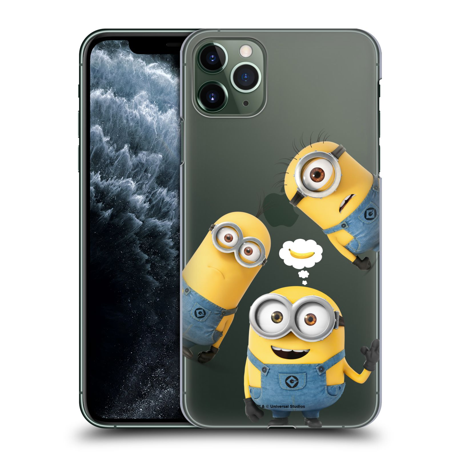 Plastové pouzdro na mobil Apple iPhone 11 Pro Max - Head Case - Mimoni Banana z filmu Já, padouch - Despicable Me