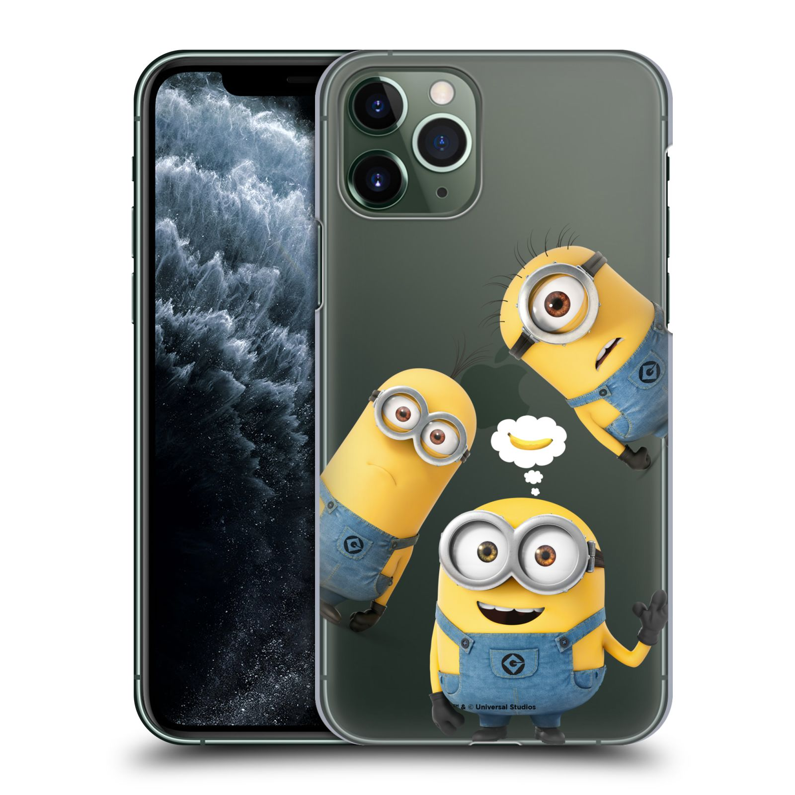 Plastové pouzdro na mobil Apple iPhone 11 Pro - Head Case - Mimoni Banana z filmu Já, padouch - Despicable Me