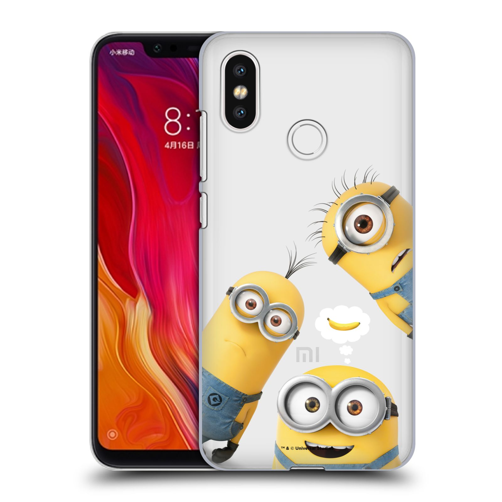 Plastové pouzdro na mobil Xiaomi Mi8 - Head Case - Mimoni Banana z filmu Já, padouch - Despicable Me