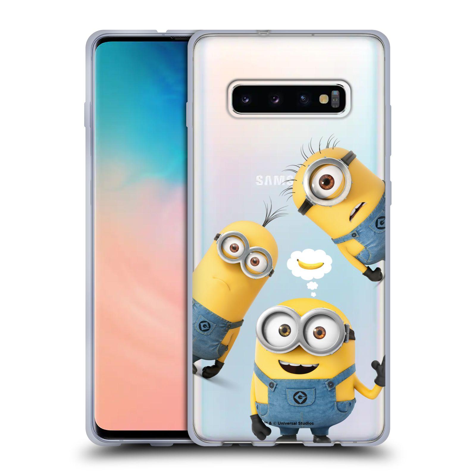 Silikonové pouzdro na mobil Samsung Galaxy S10 Plus - Head Case - Mimoni Banana z filmu Já, padouch - Despicable Me