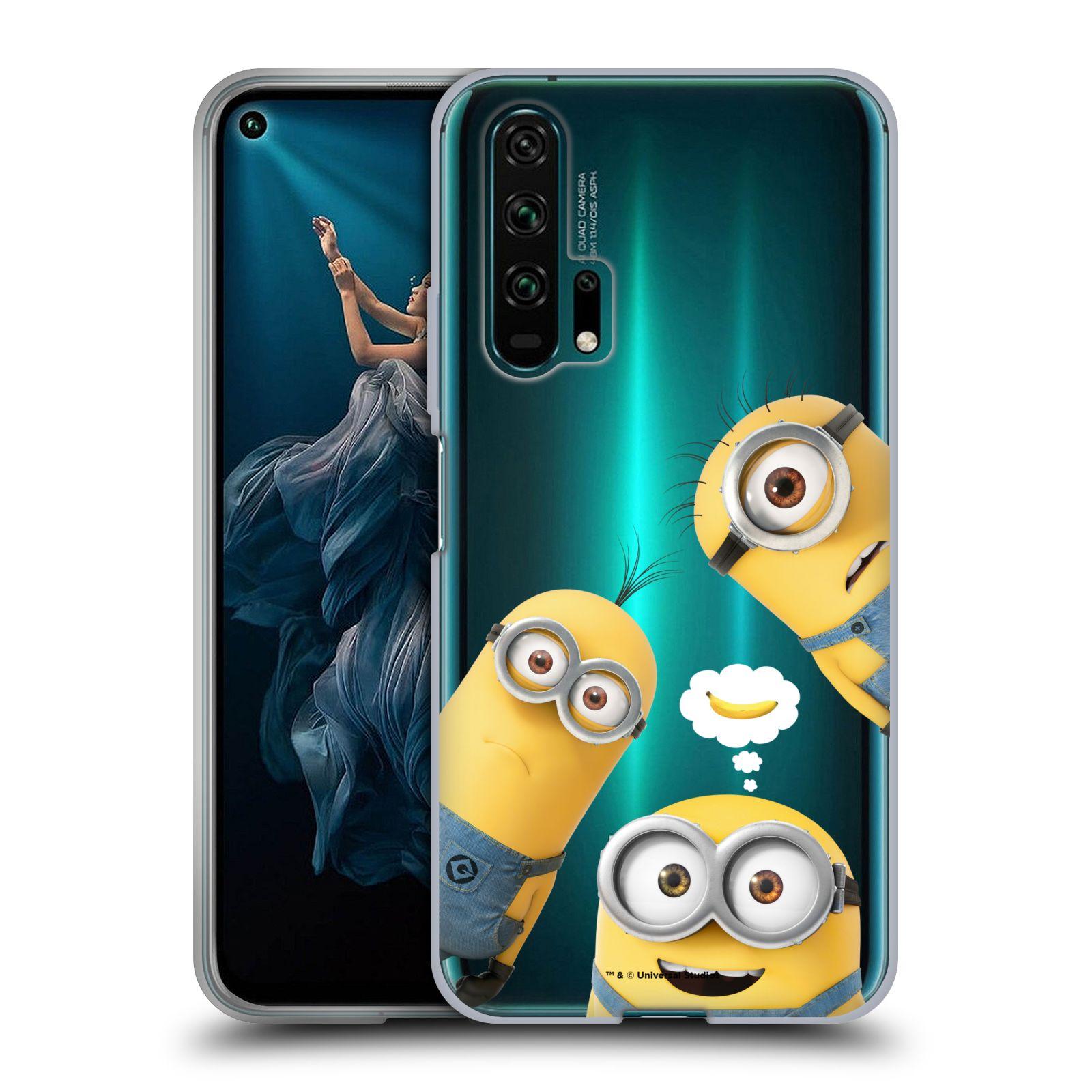 Silikonové pouzdro na mobil Honor 20 Pro - Head Case - Mimoni Banana z filmu Já, padouch - Despicable Me