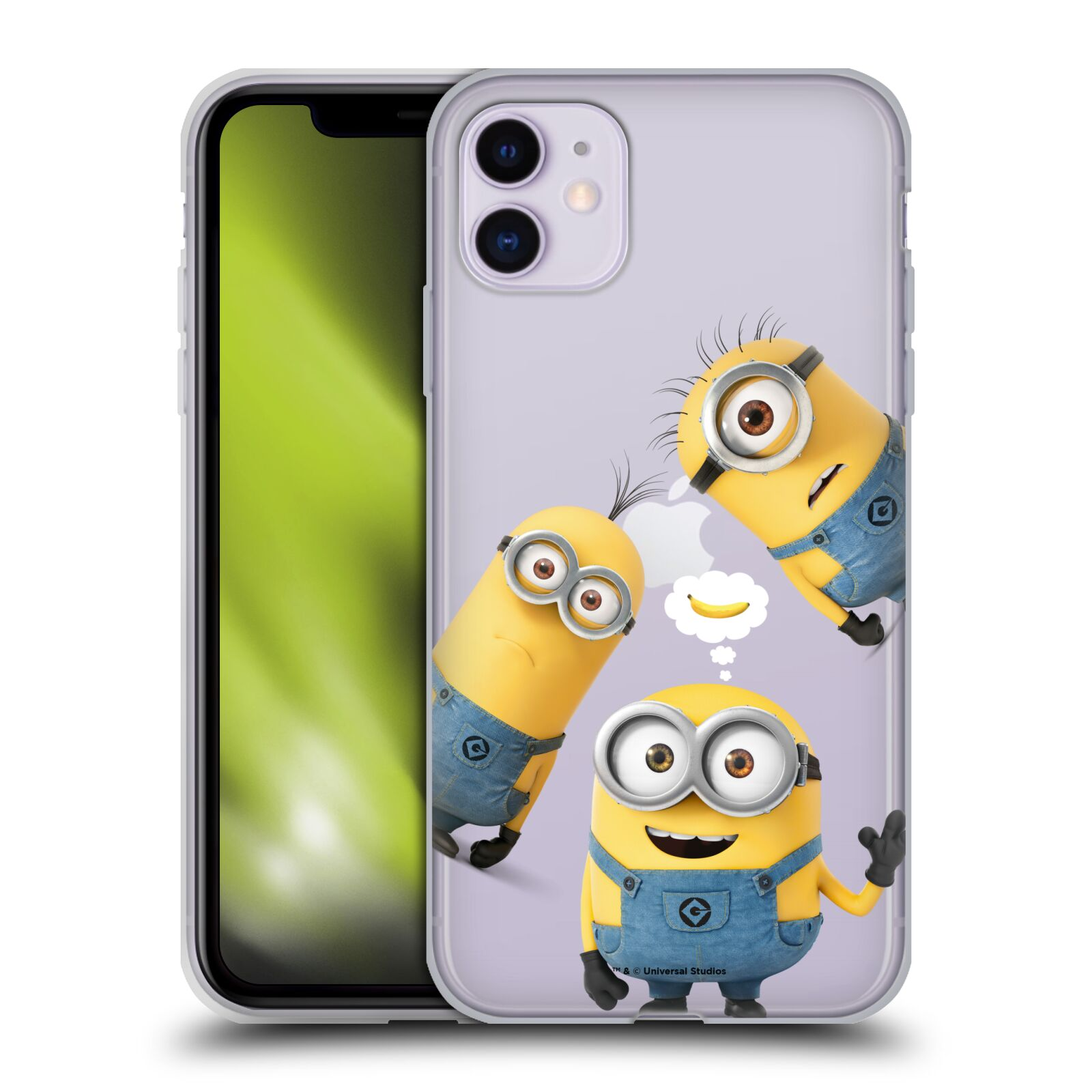 Silikonové pouzdro na mobil Apple iPhone 11 - Head Case - Mimoni Banana z filmu Já, padouch - Despicable Me