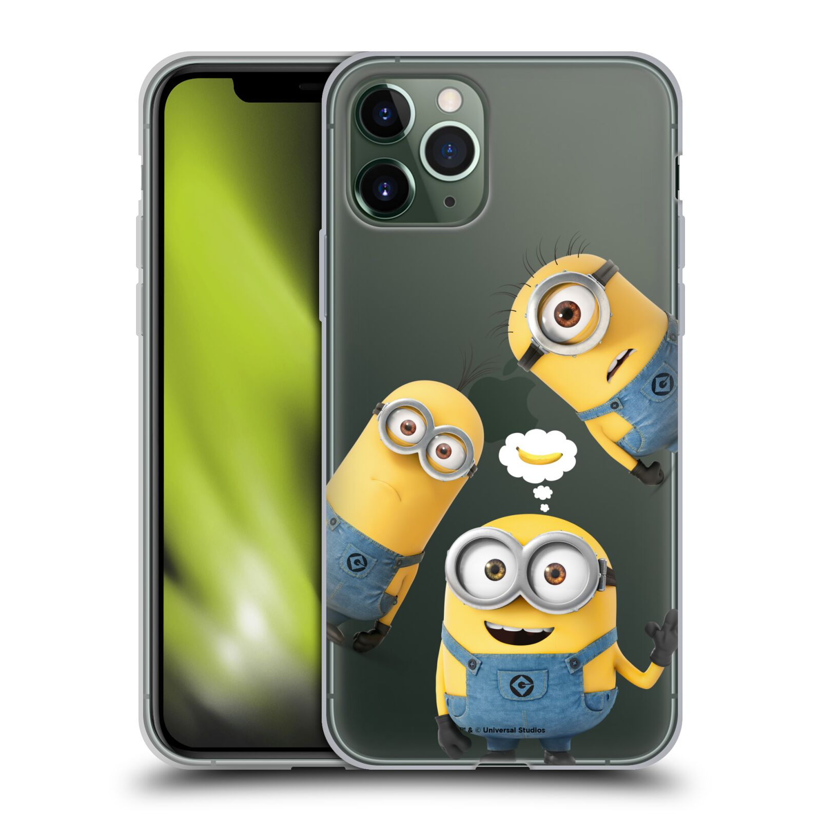 kryt na iphone 8 plus guess , Silikonové pouzdro na mobil Apple iPhone 11 Pro - Head Case - Mimoni Banana z filmu Já, padouch - Despicable Me