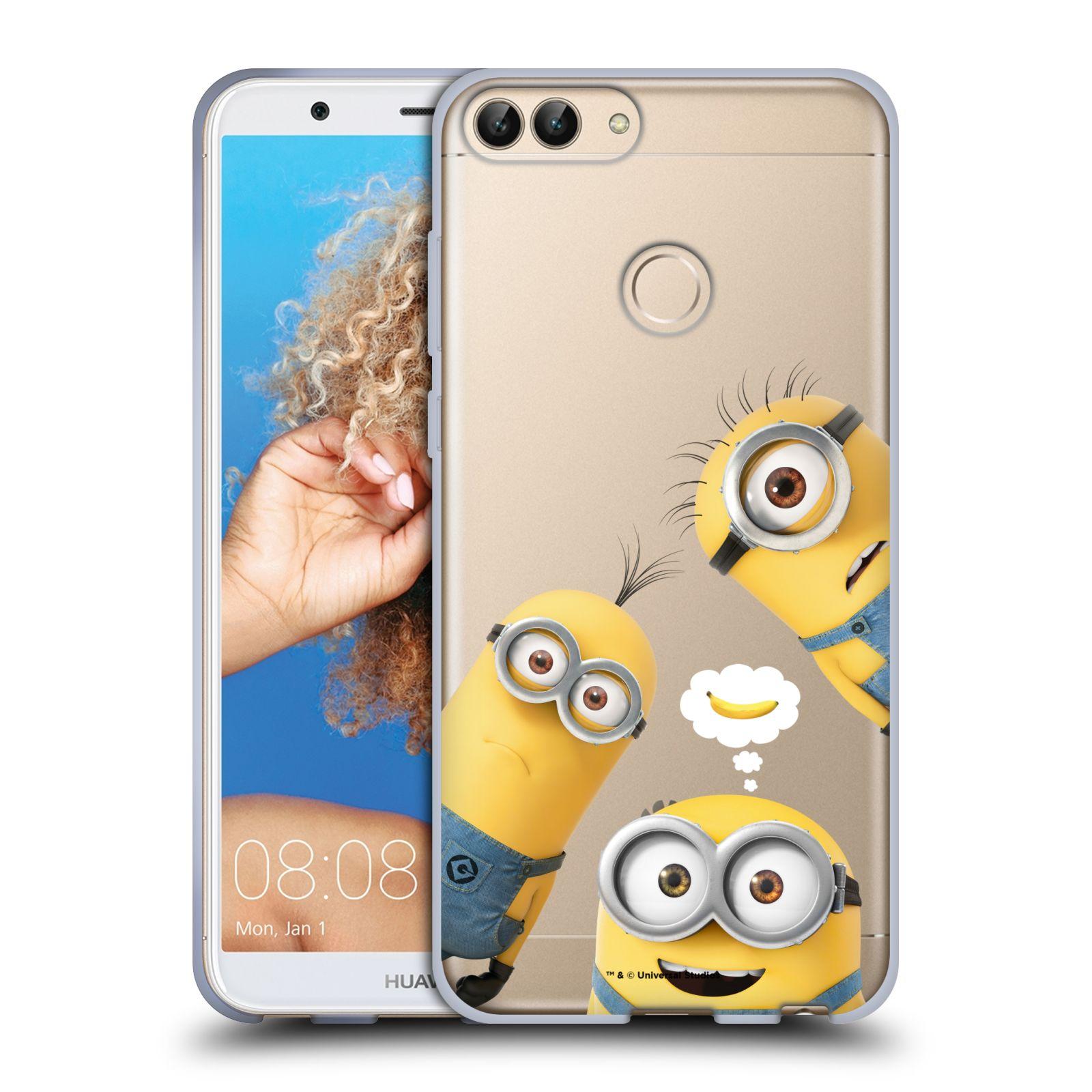 Silikonové pouzdro na mobil Huawei P Smart - Head Case - Mimoni Banana z filmu Já, padouch - Despicable Me